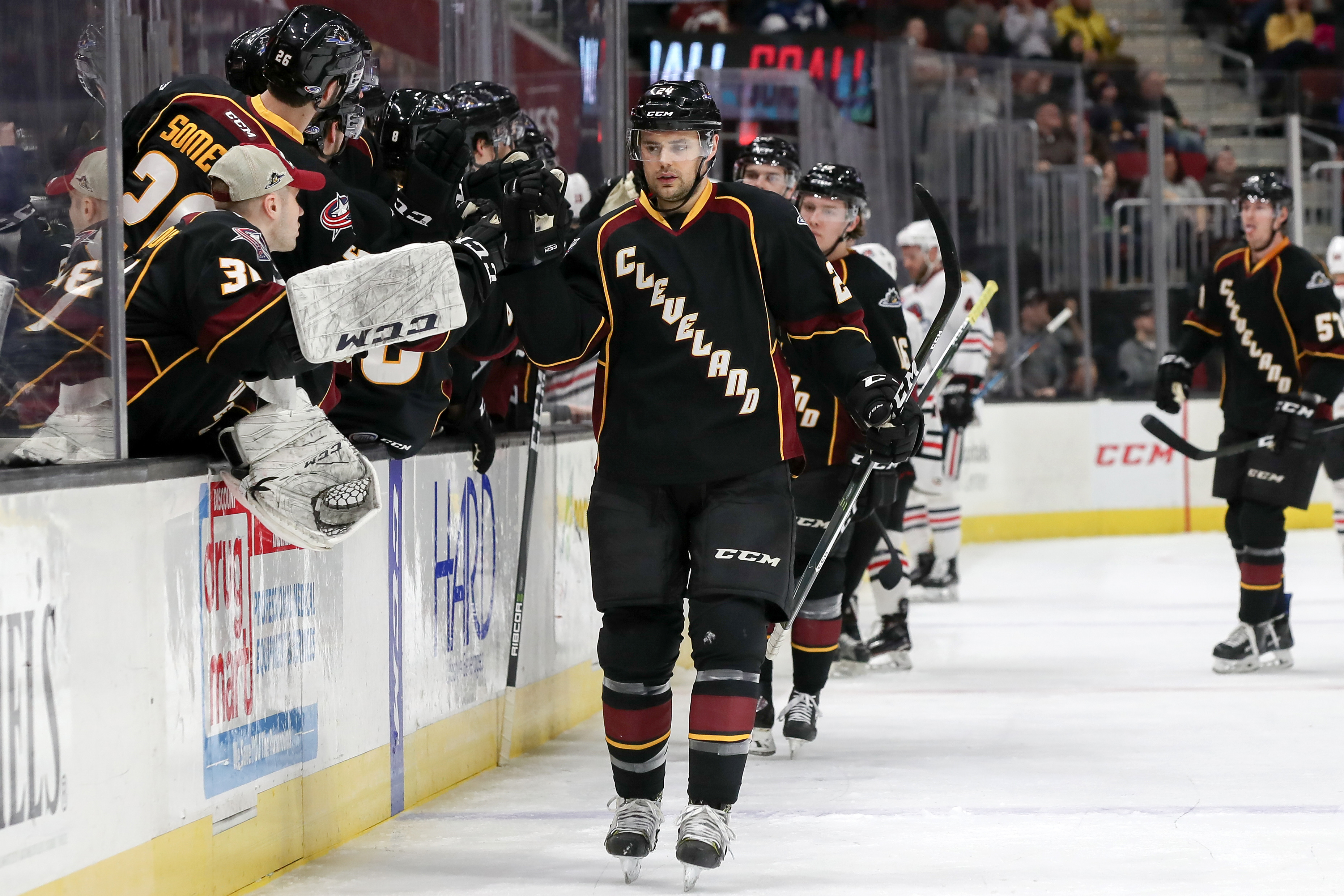 AHL: JAN 19 Rockford IceHogs at Cleveland Monsters