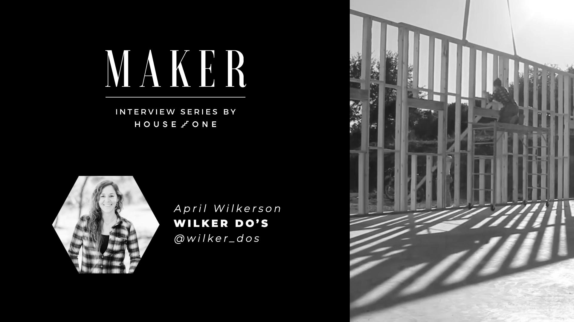 April Wilkerson of Wilker Do's