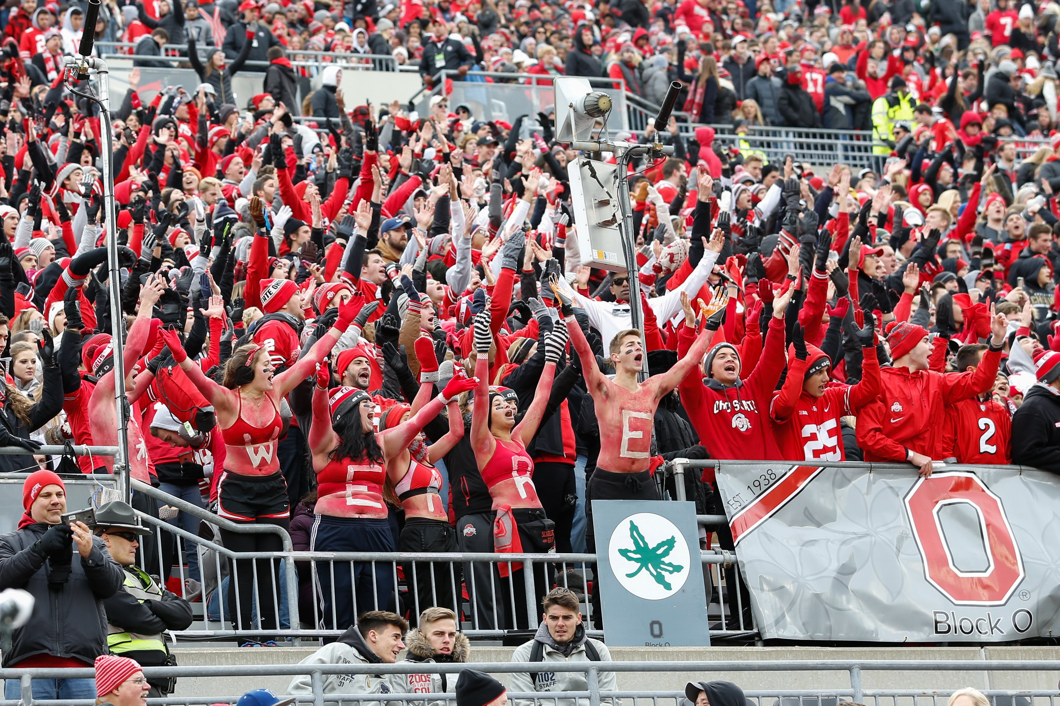 COLLEGE FOOTBALL: NOV 11 Michigan State at Ohio State
