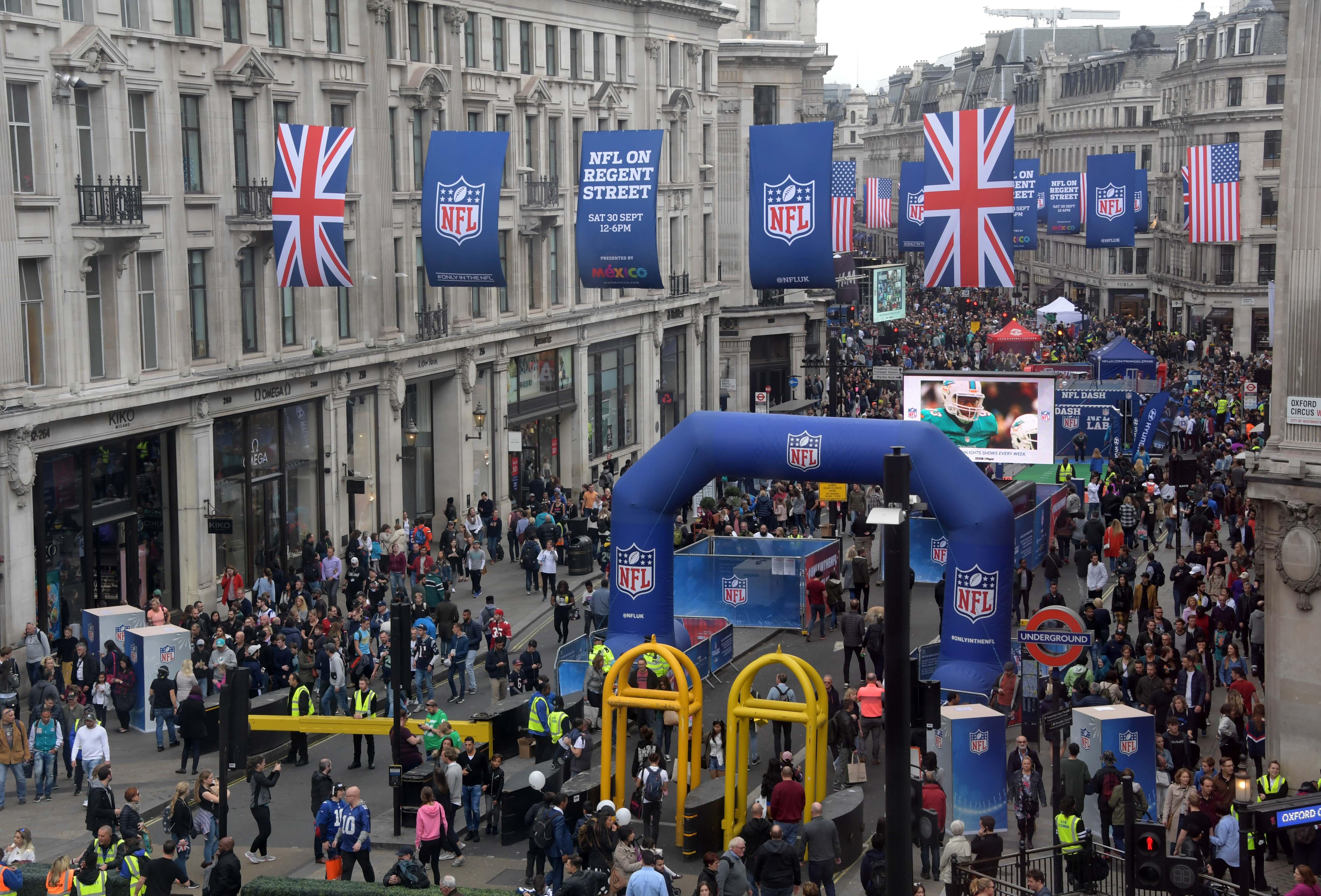 NFL: International Series-NFL on Regent Street