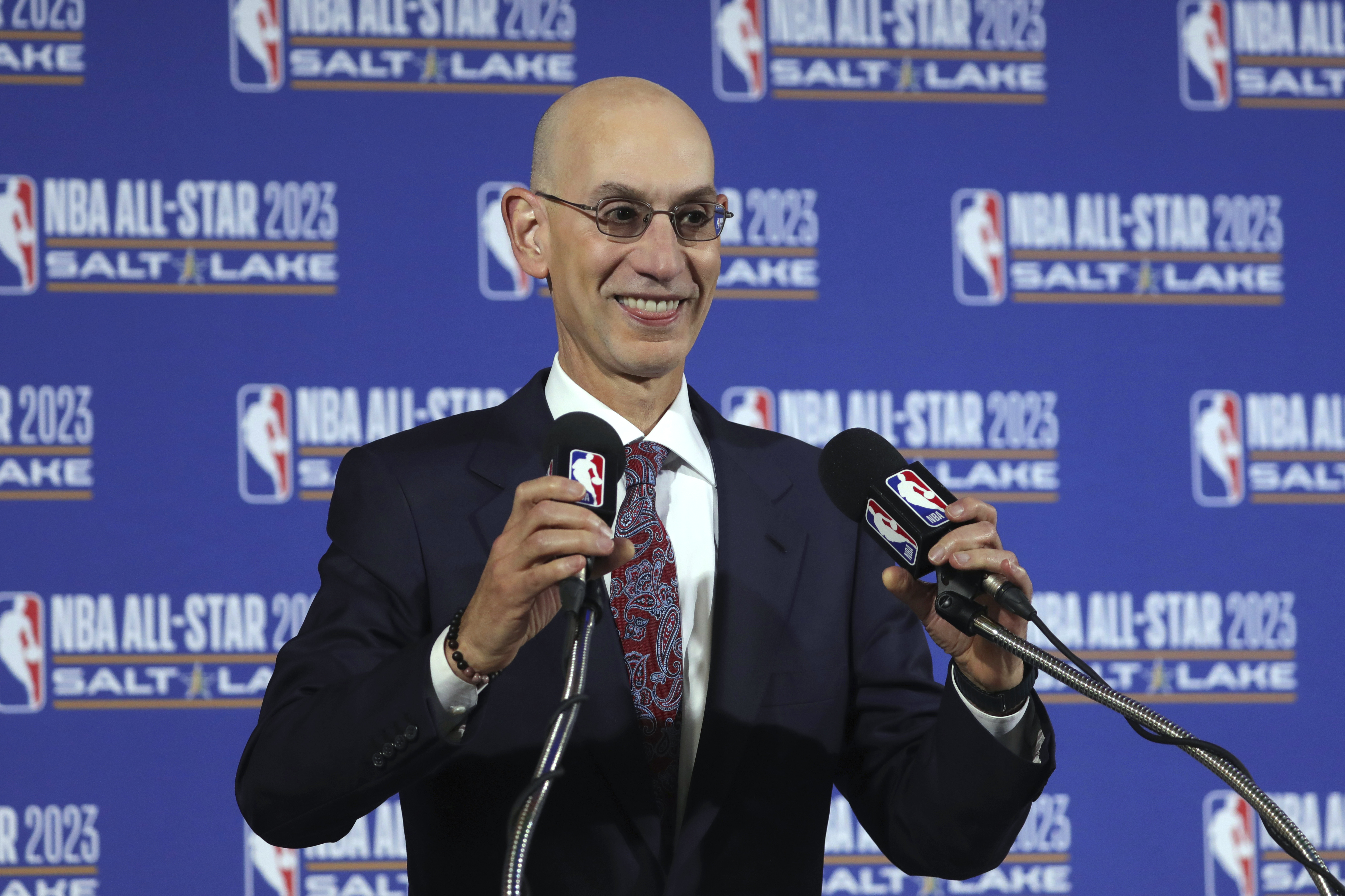 NBA Commissioner Adam Silver is still collecting information on multiple options ranging from 16 to 30 teams returning to action when the season restarts.