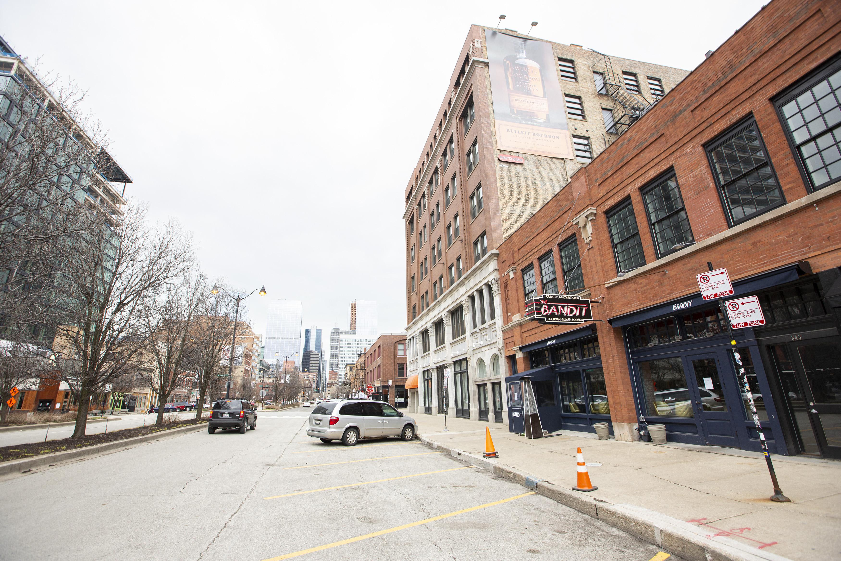Randolph Street in West Loop