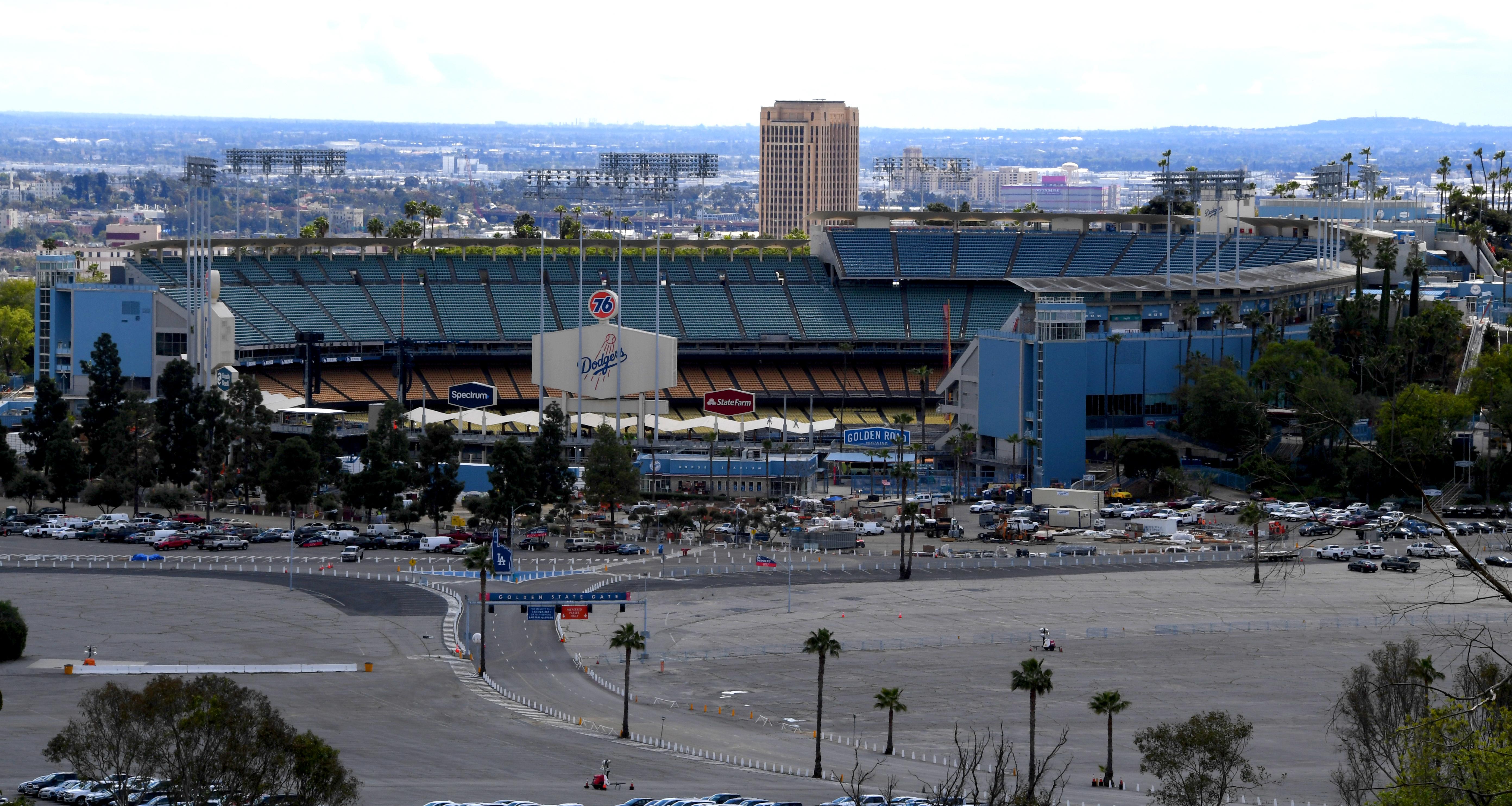 Dodgers Opening Postponed due to cornoavirus