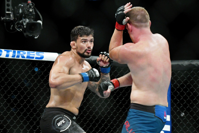 MMA: UFC Fight Night-San Antonio-Alvey vs Abreu