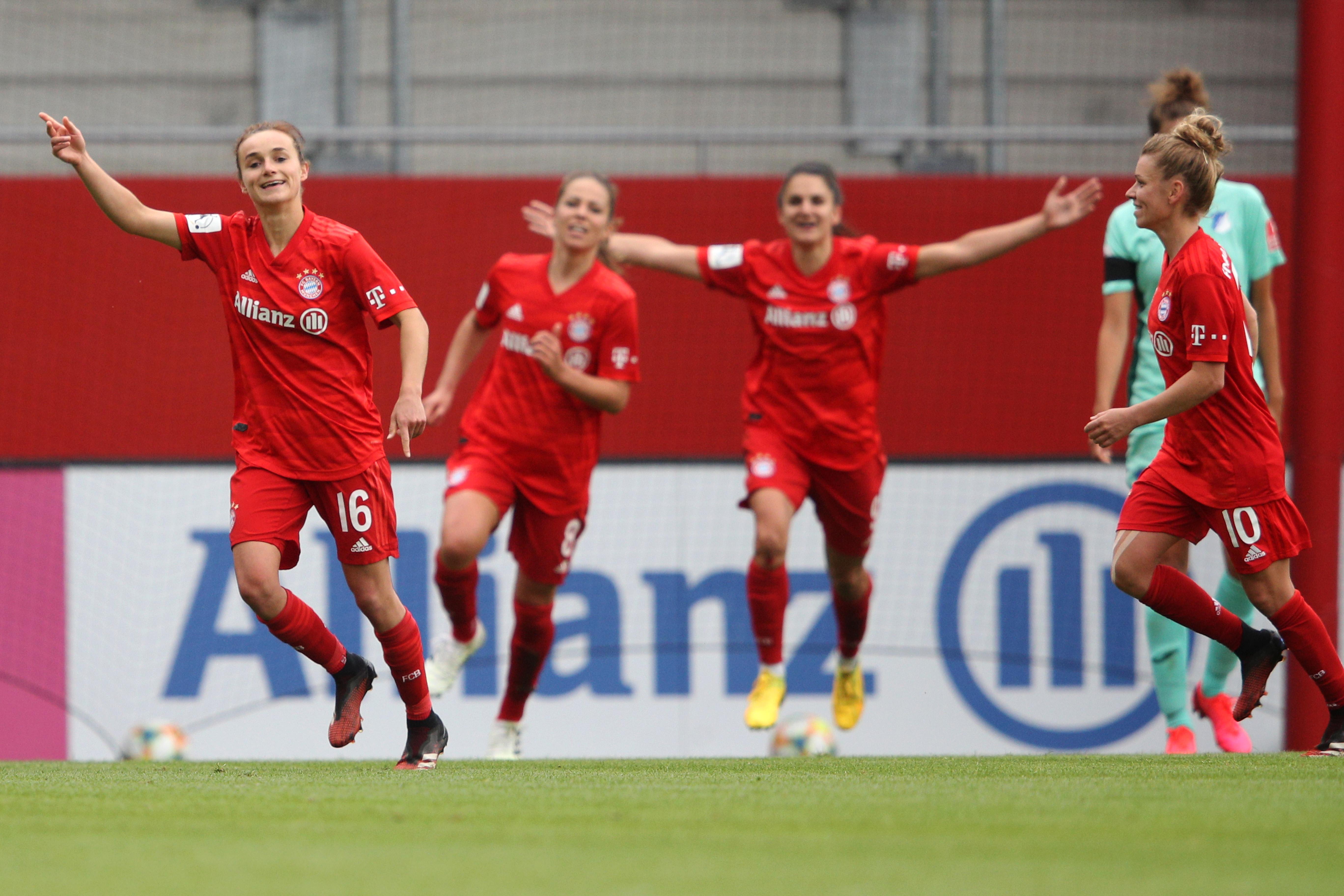 Bayern Muenchen Women's v TSG Hoffenheim Women's - Flyeralarm Frauen-Bundesliga
