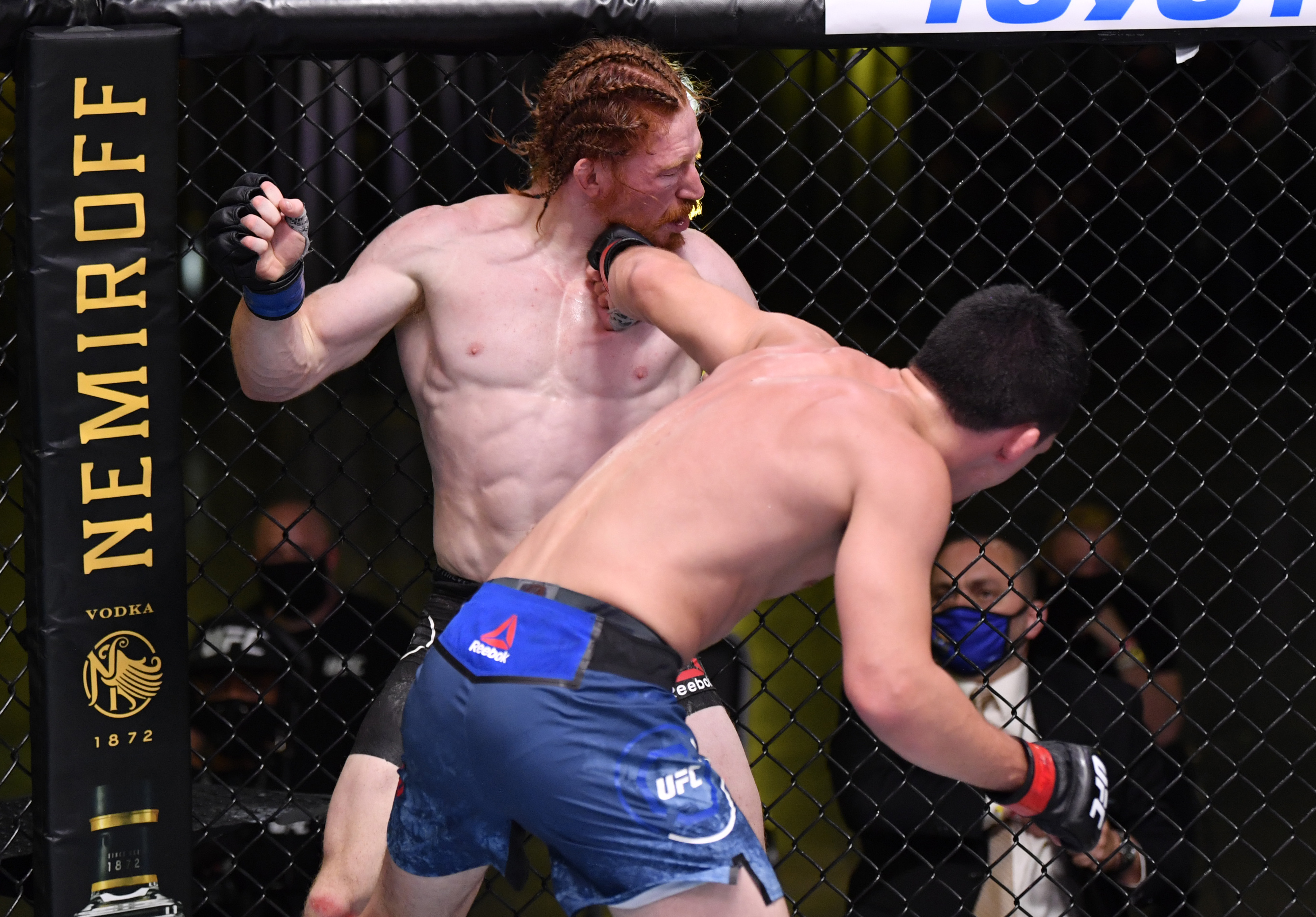 UFC Fight Night: Quarantillo v Carlyle