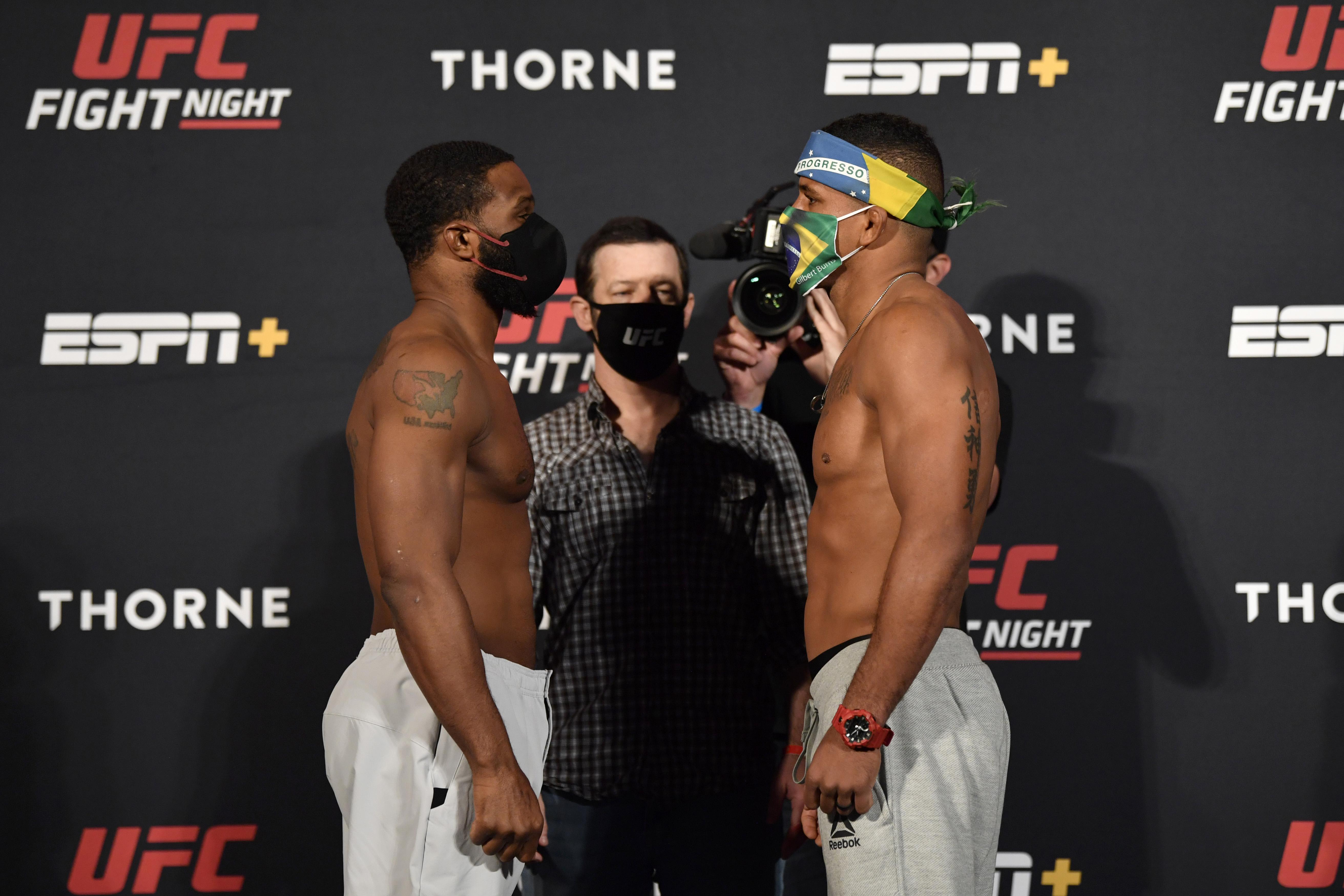 MMA: UFC Fight Night-Weigh Ins