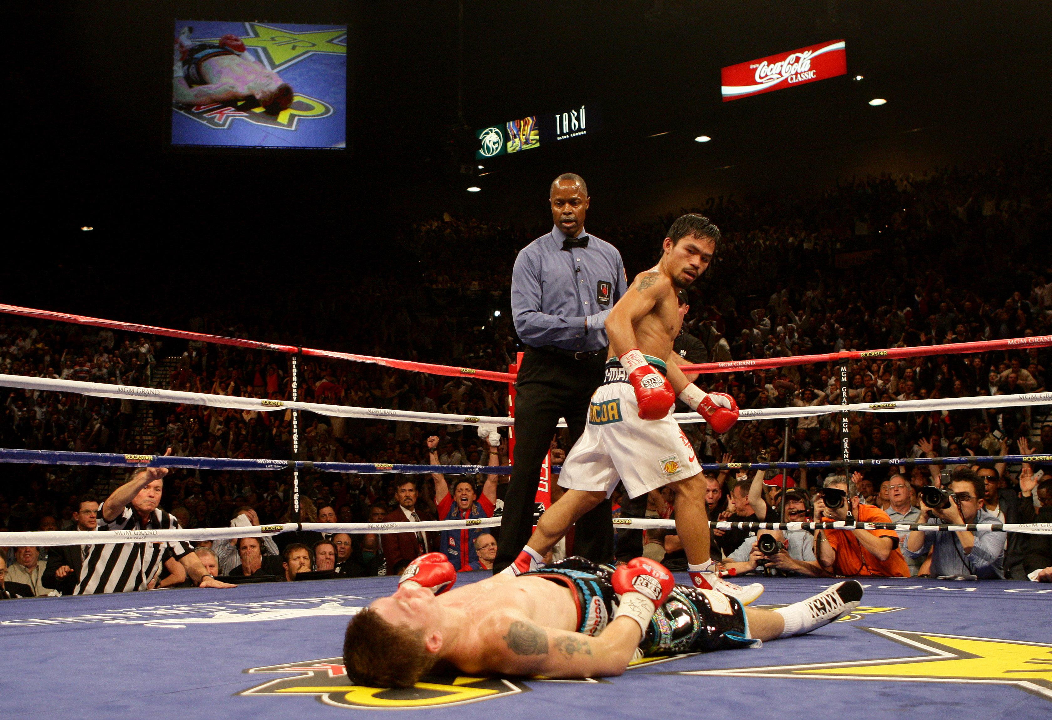 Boxing - Light-Welterweight Bout - Ricky Hatton v Manny Pacquiao - MGM Grand