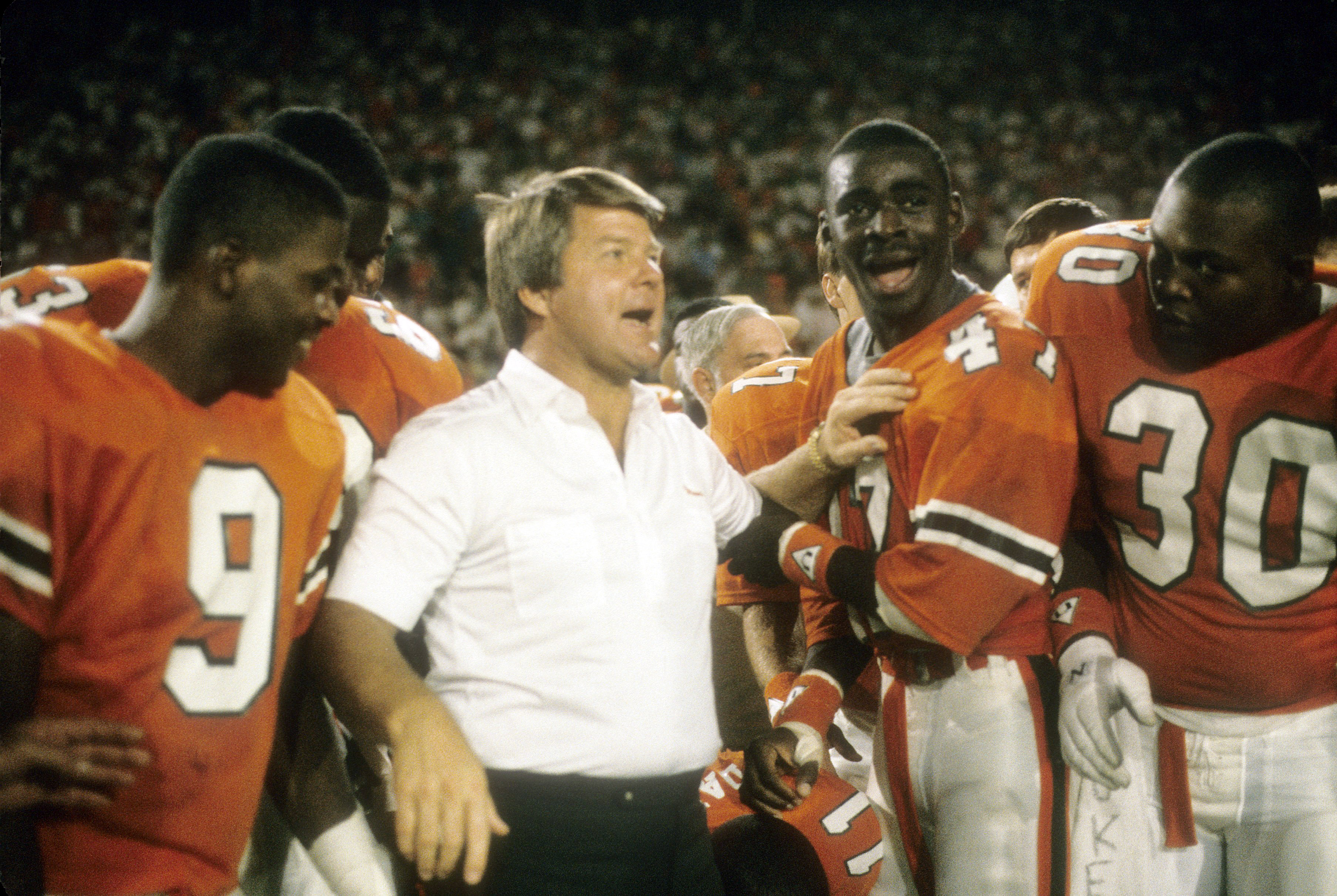 January 1, 1988: NCAA Orange Bowl Game - Oklahoma Sooner v Miami Hurricanes