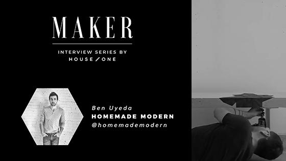 Ben Uyeda of Homemade Modern