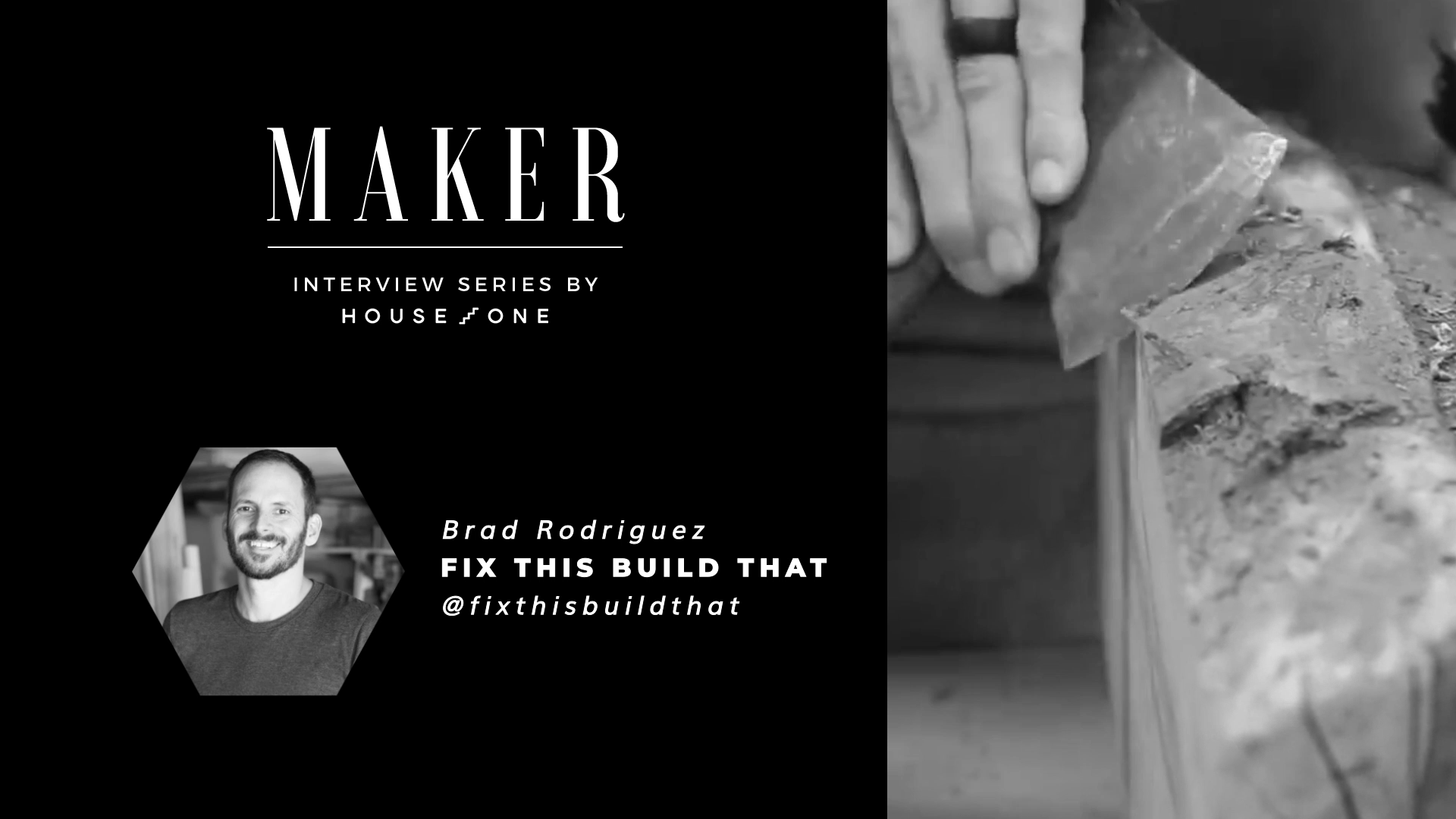 Maker Interview with Brad Rodriguez of Fix This Build That