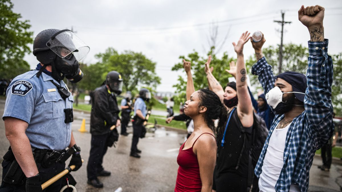Minneapolis protest on May 26