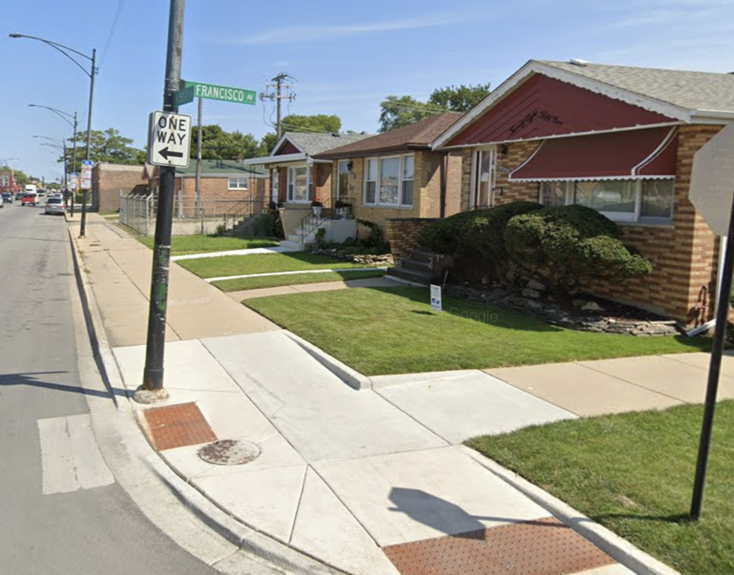 A man attempting to run from the scene of a vehicle crash June 1, 2020, in the 2900 block of West 51st Street, was hit by a vehicle and shot at.