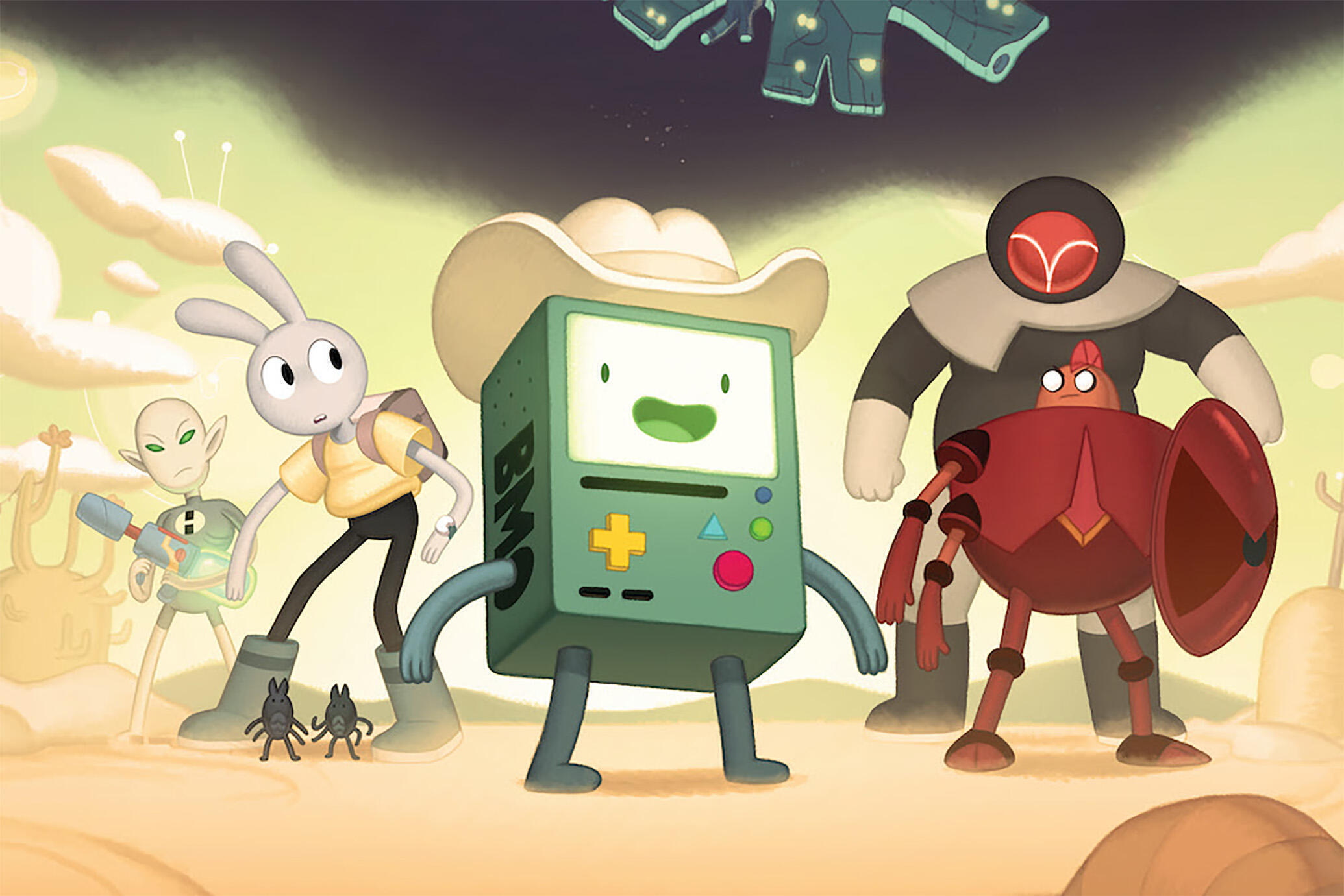 BMO in Adventure Time Distant Lands: BMO