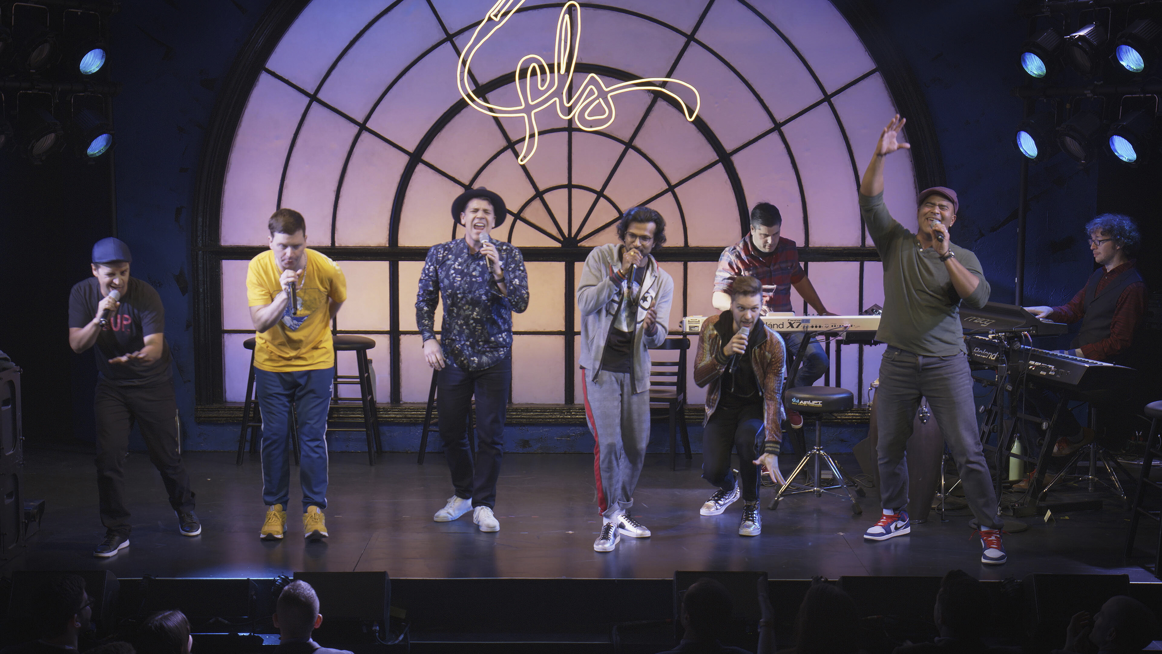 """This image released by Hulu shows a scene from """"We Are Freestyle Love Supreme."""""""