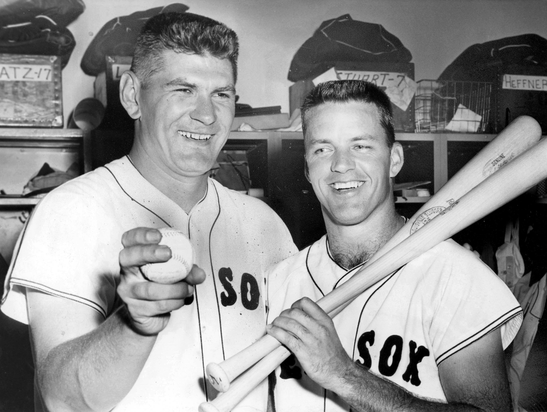 Boston Red Sox Dick Radatz And Earl Wilson
