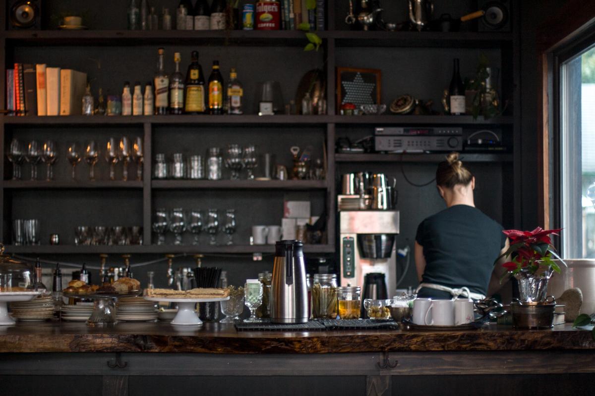 Brunch spot Trinket's bar