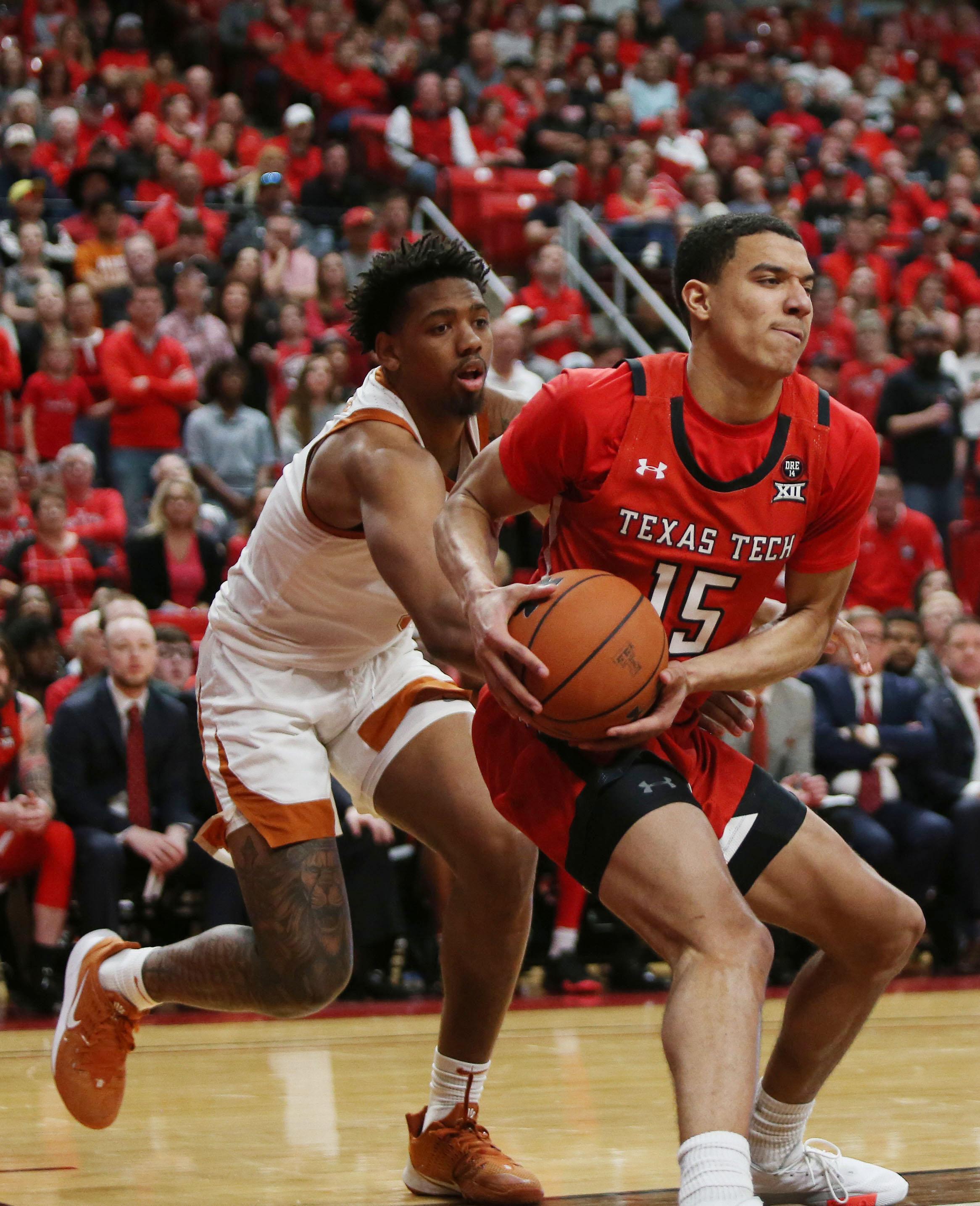 NCAA Basketball: Texas at Texas Tech