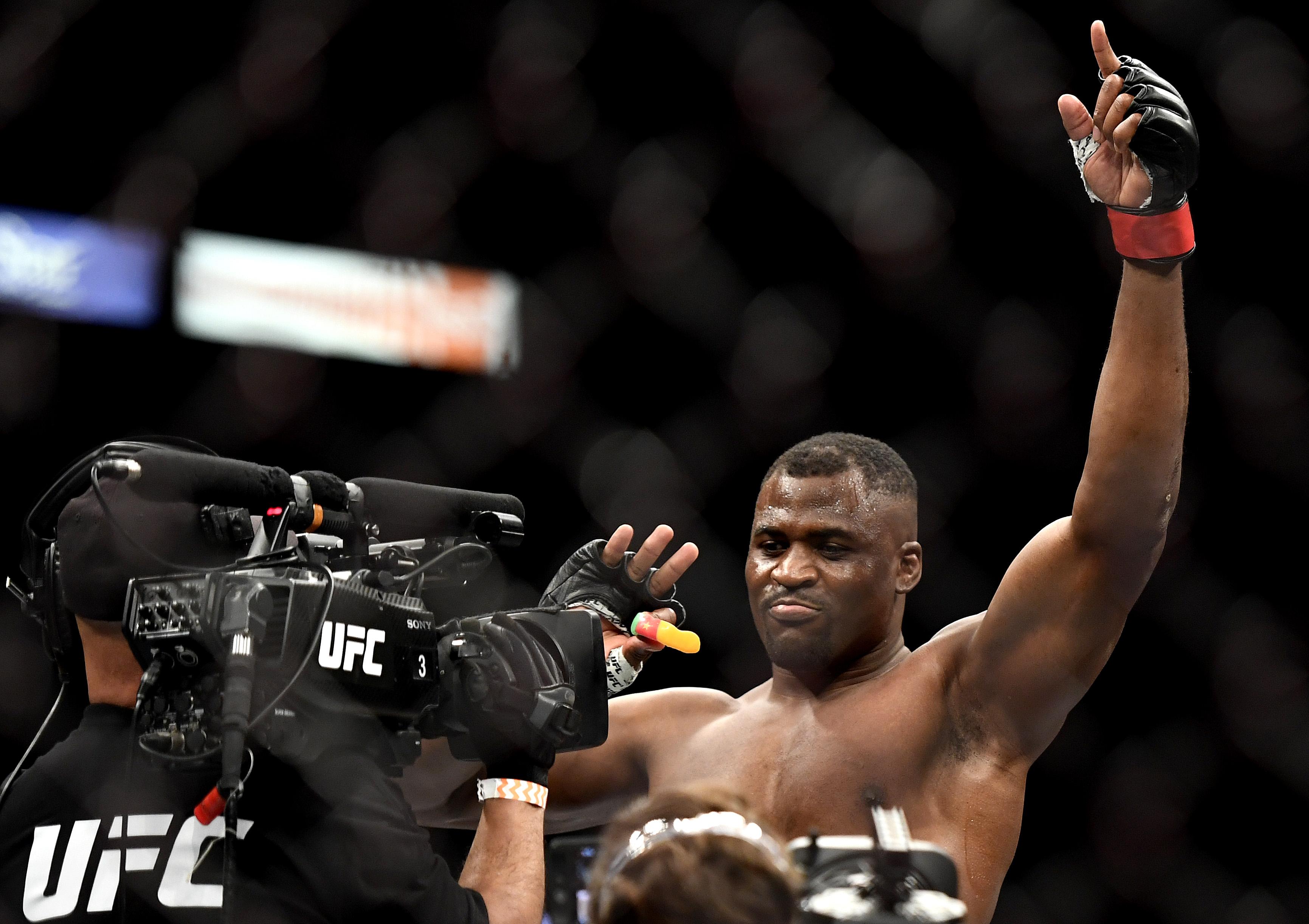 UFC 249 Ngannou v Rozenstruik