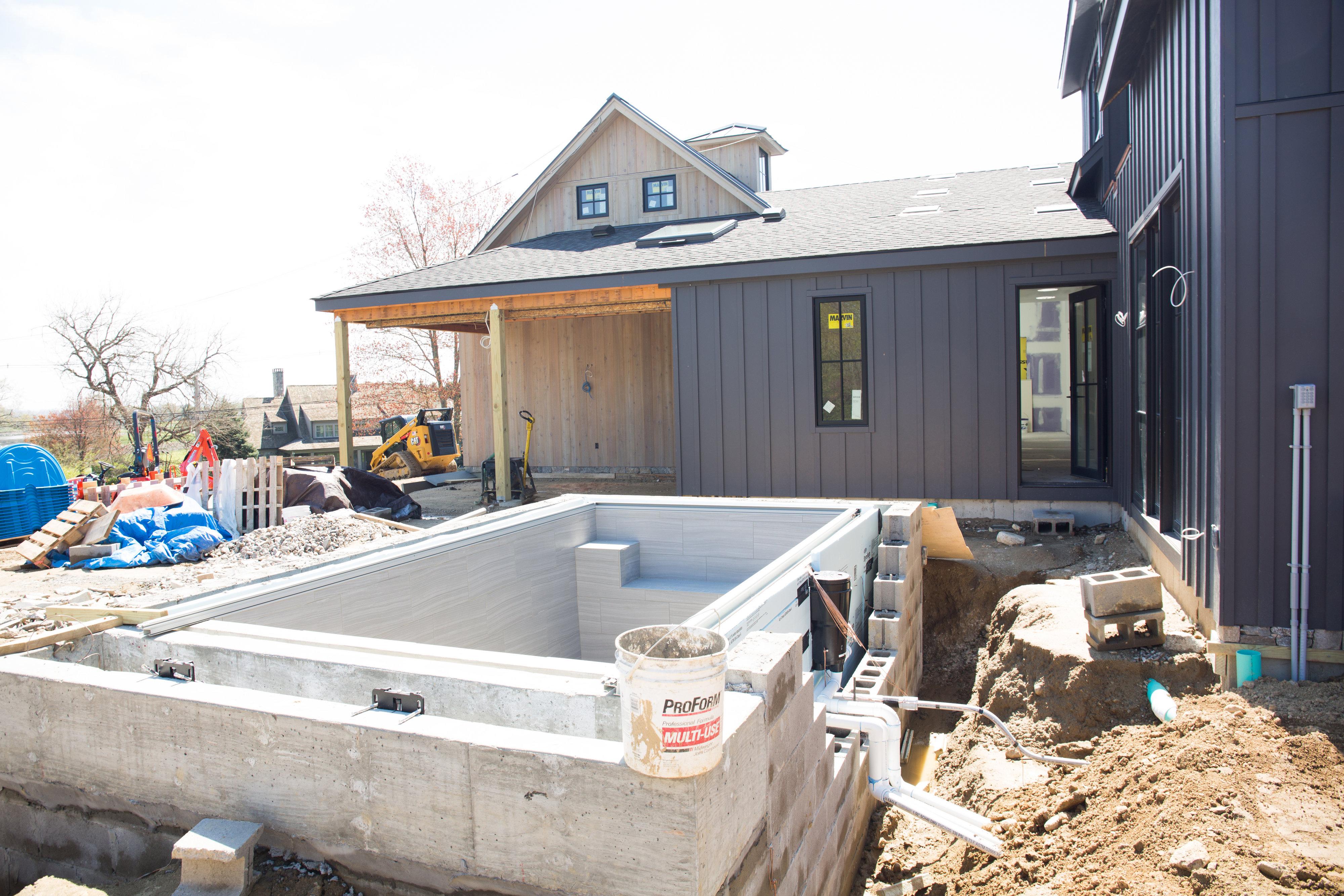 Fairfield Farmhouse, Idea House, 2020, Pool