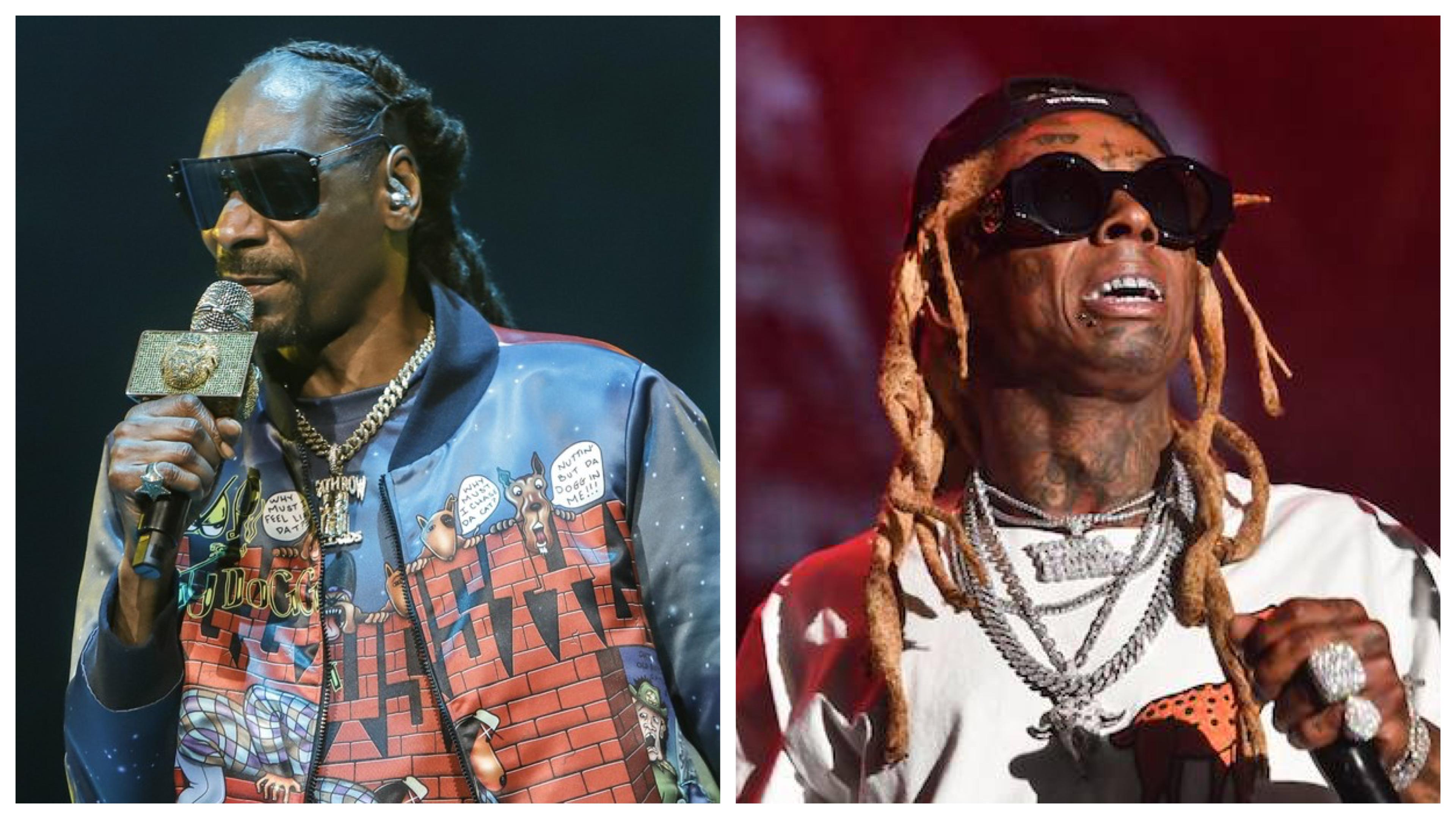 Snoop Dogg and Lil Wayne