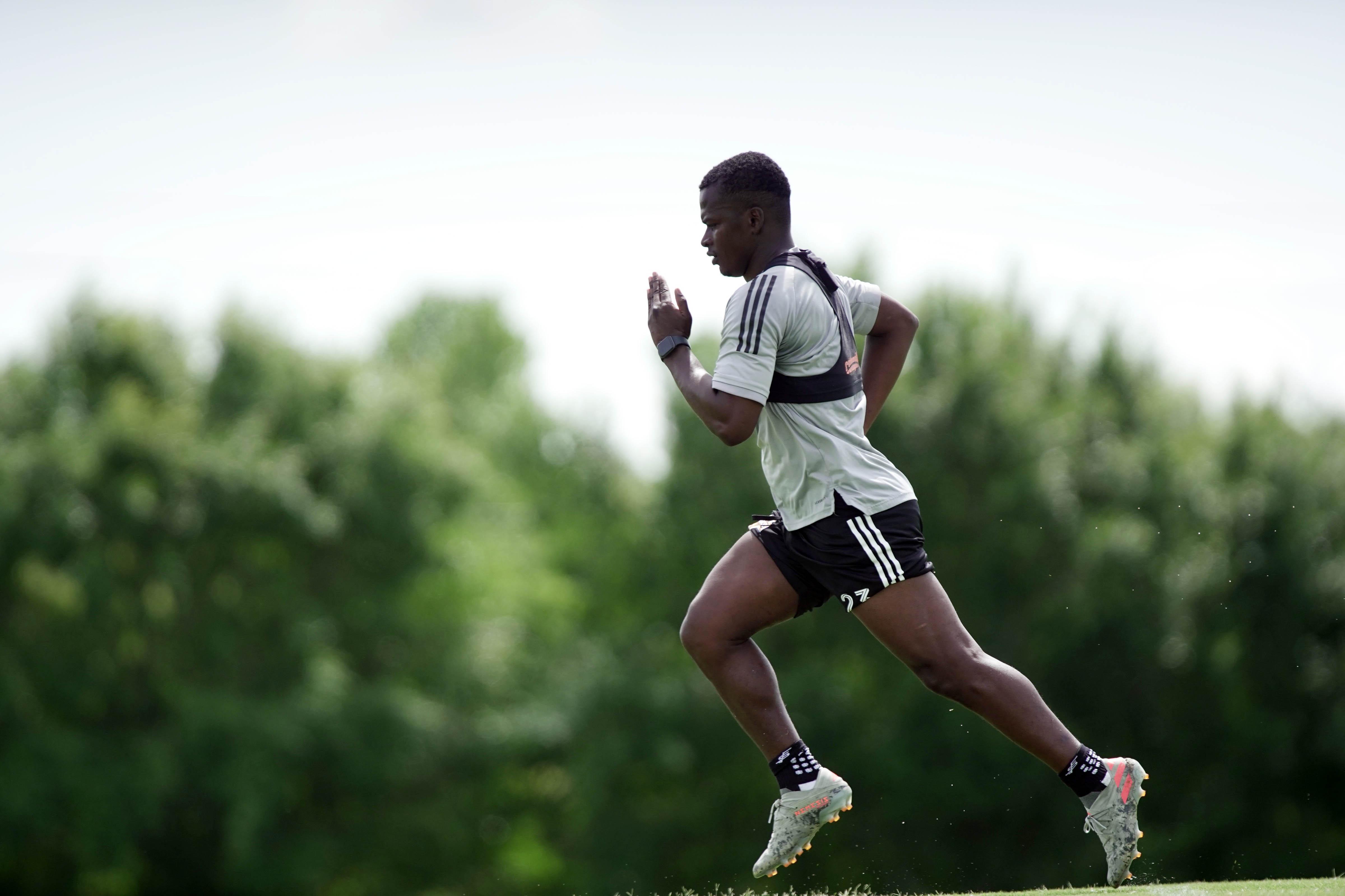 MLS: Houston Dynamo-Individual Training