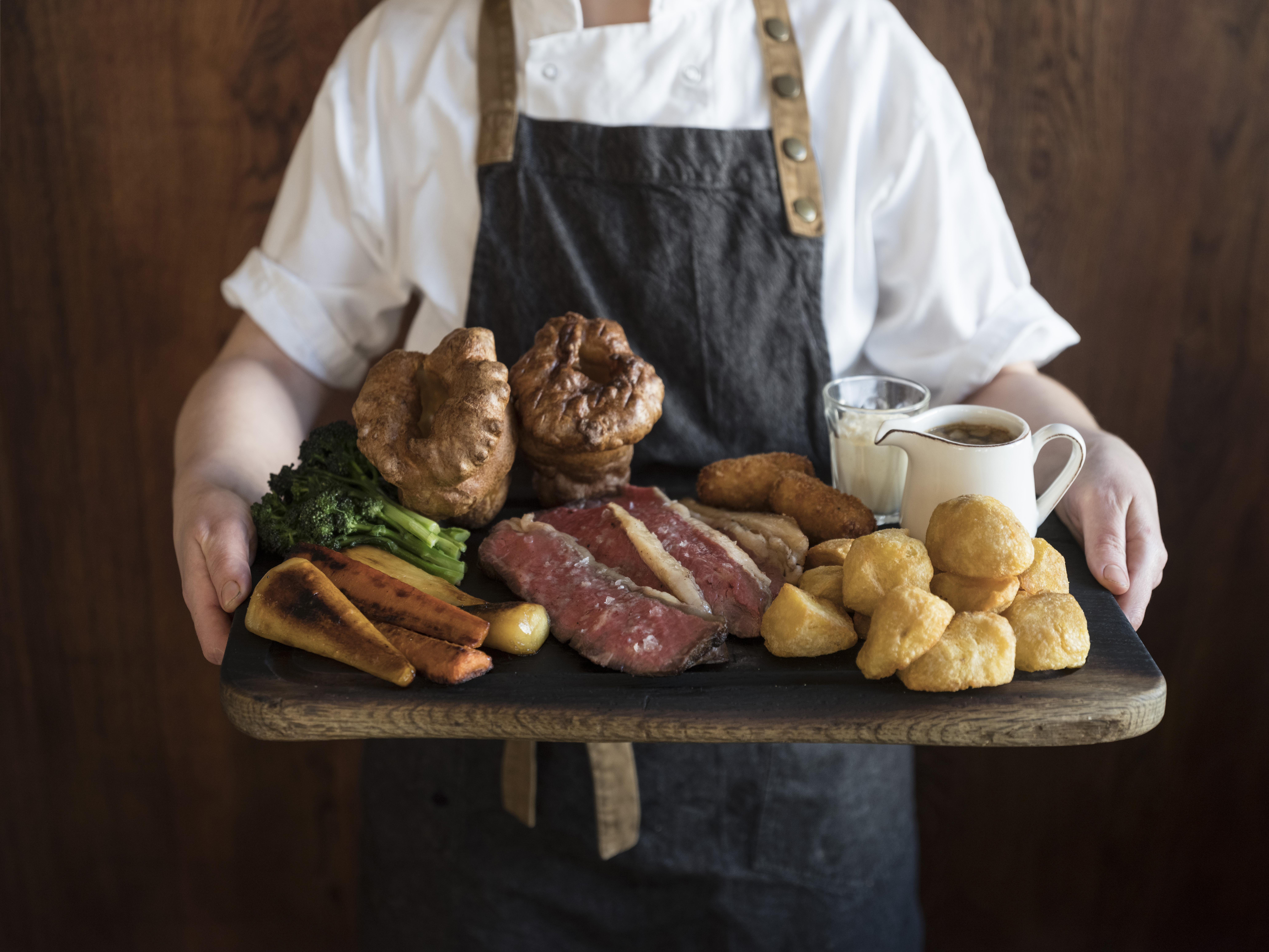 Michelin-starred pub, Harwood Arms' famous Sunday roast is now being offered for home delivery