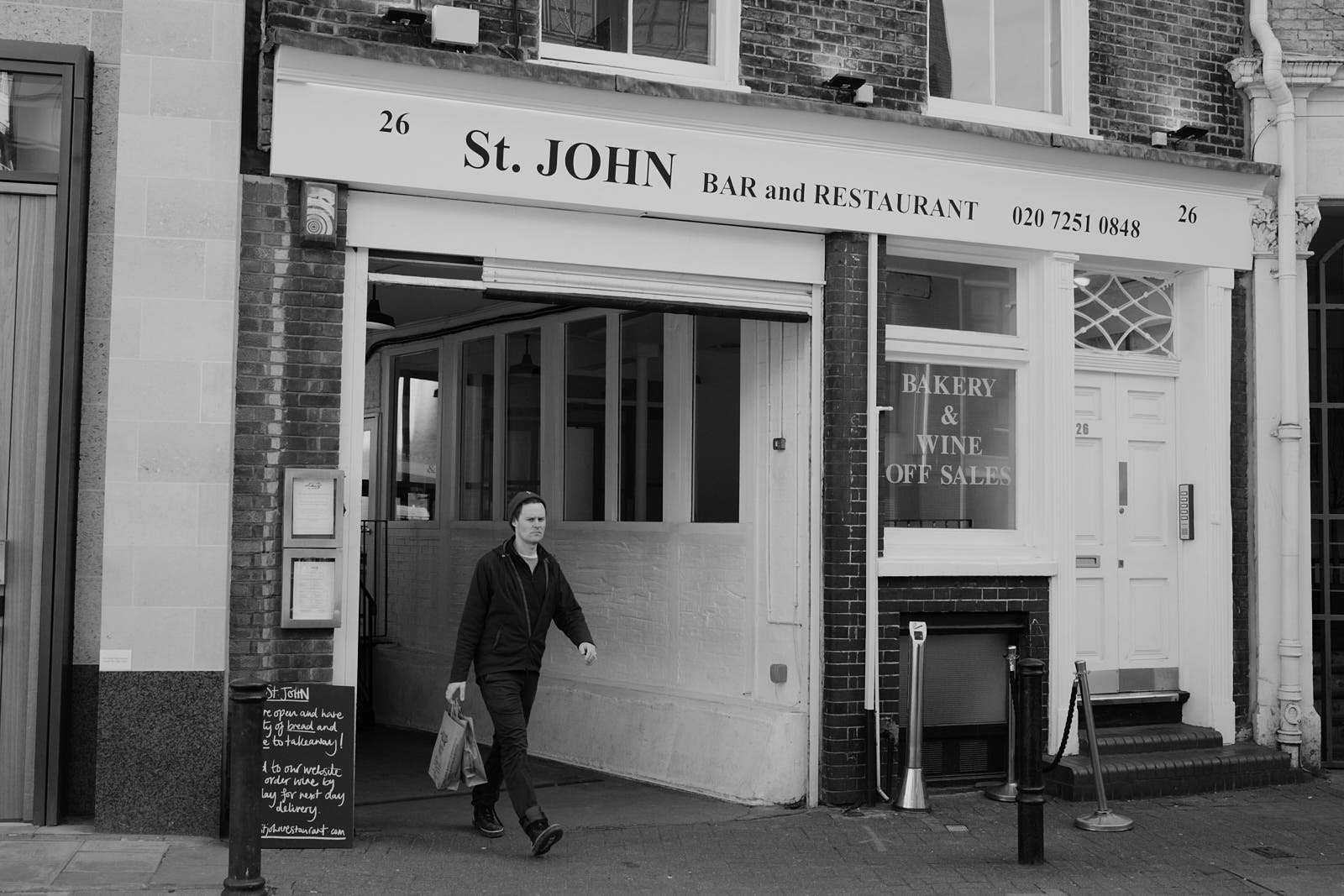 U.K. coronavirus lockdown will reopen restaurants and pubs like London restaurant St. John last, says Michael Gove