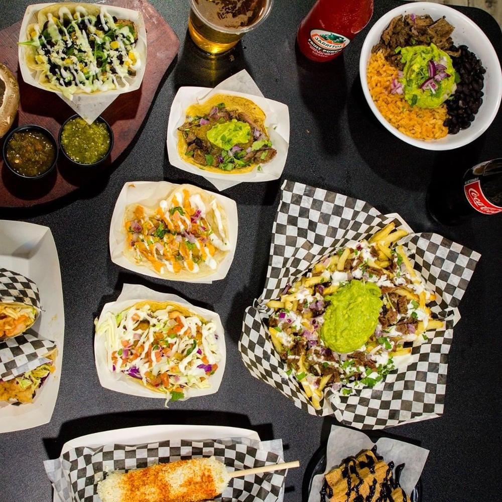 Fries, tacos, bowls, churros and tacos on the menu at El Cabron, headed to Maryland parkway.