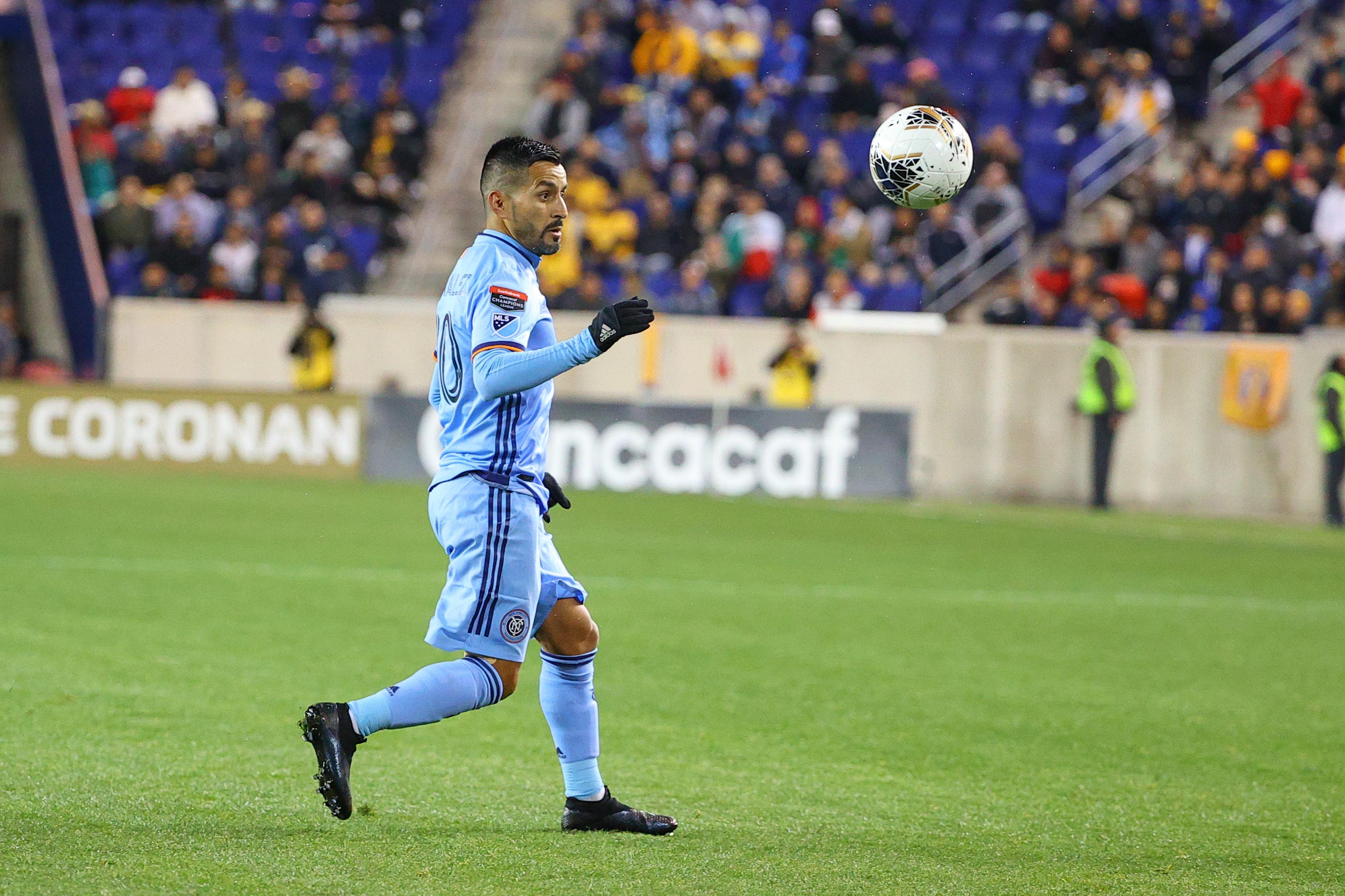 SOCCER: MAR 11 Concacaf Champions League Quarterfinal - New York City FC v Tigres UANL