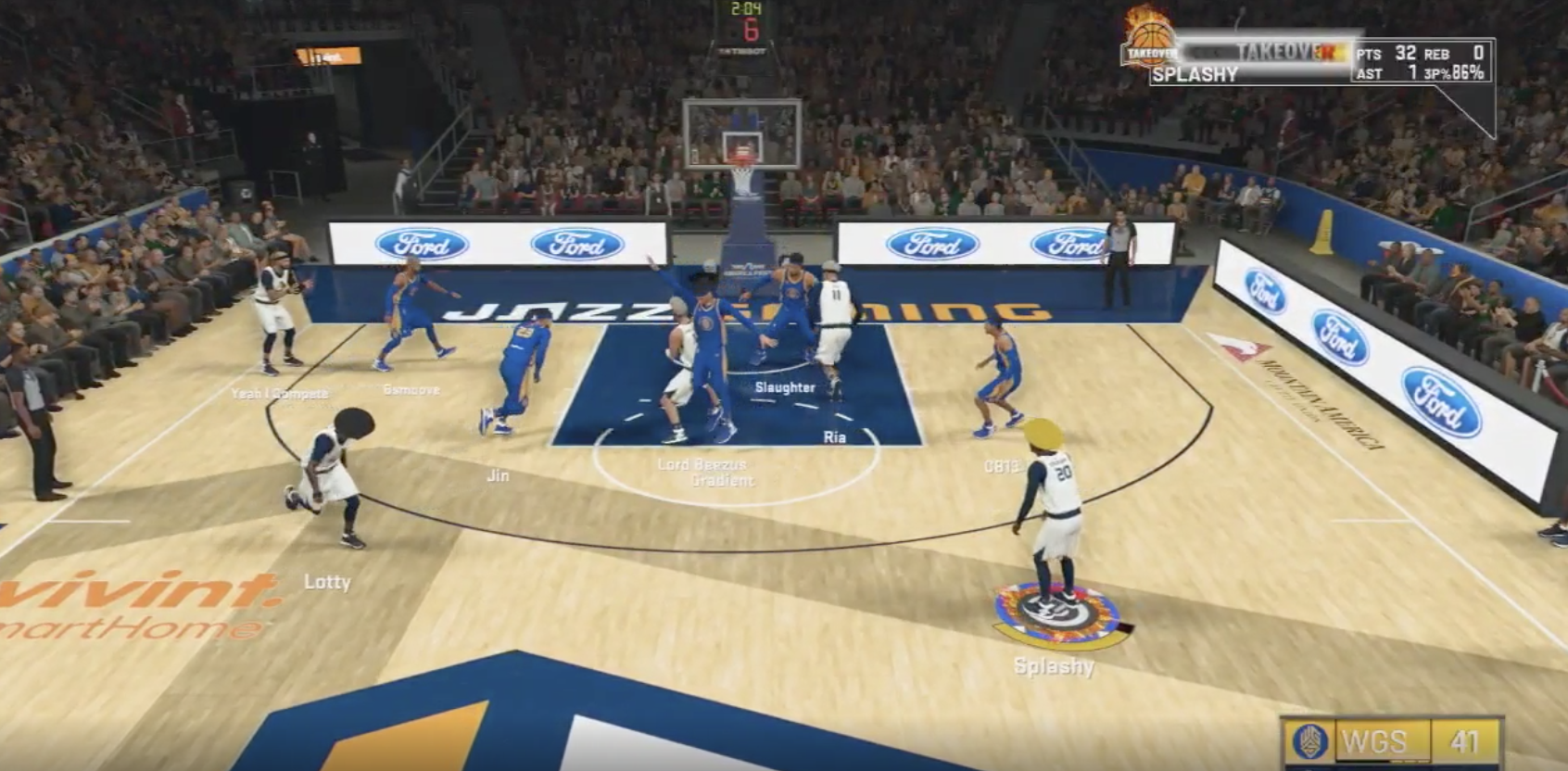 Jazz Gaming defeated an undefeated Warriors team in the NBA 2K League, which announced four new partners