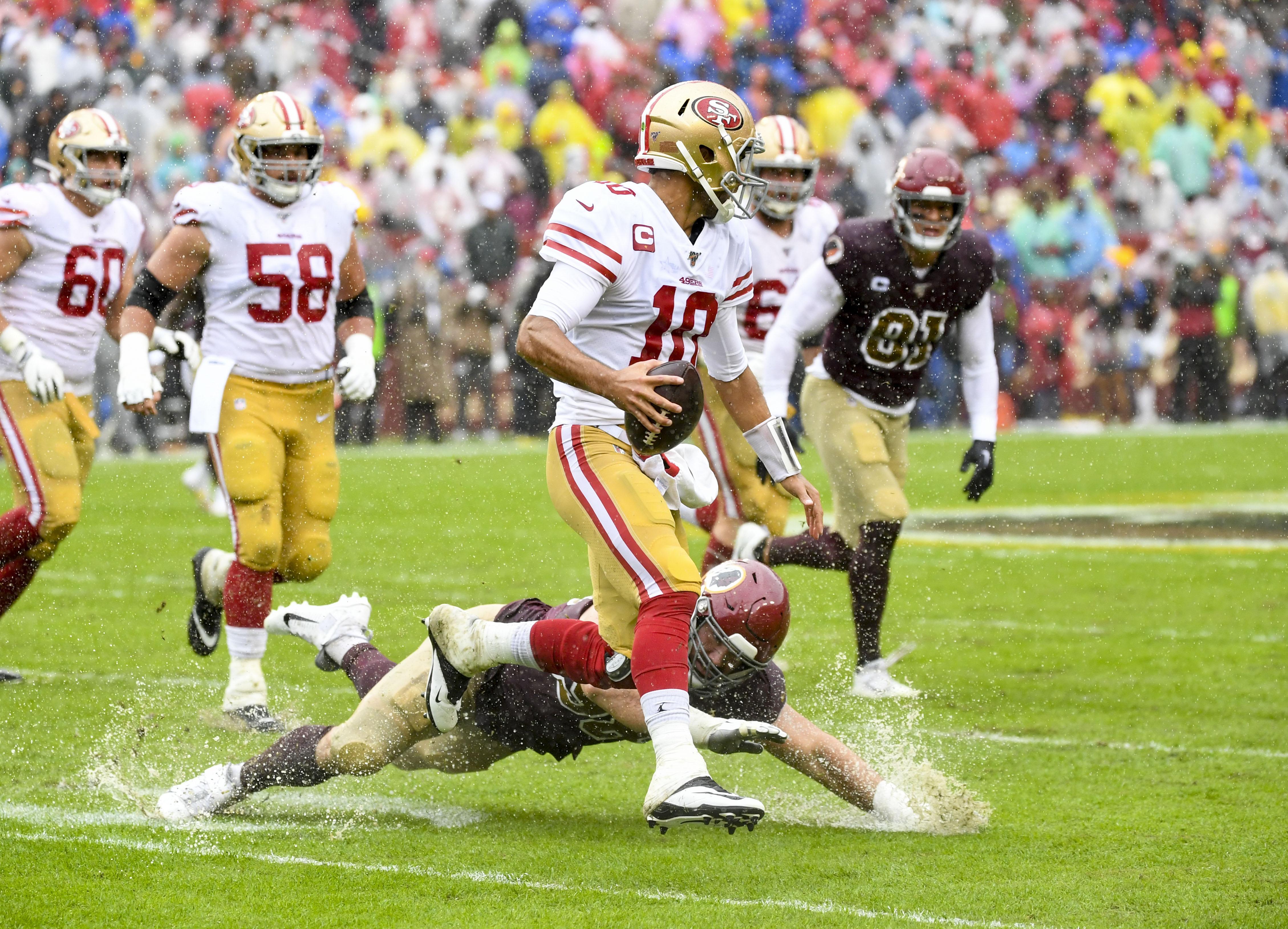 NFL-San Francisco 49ers at Washington Redskins