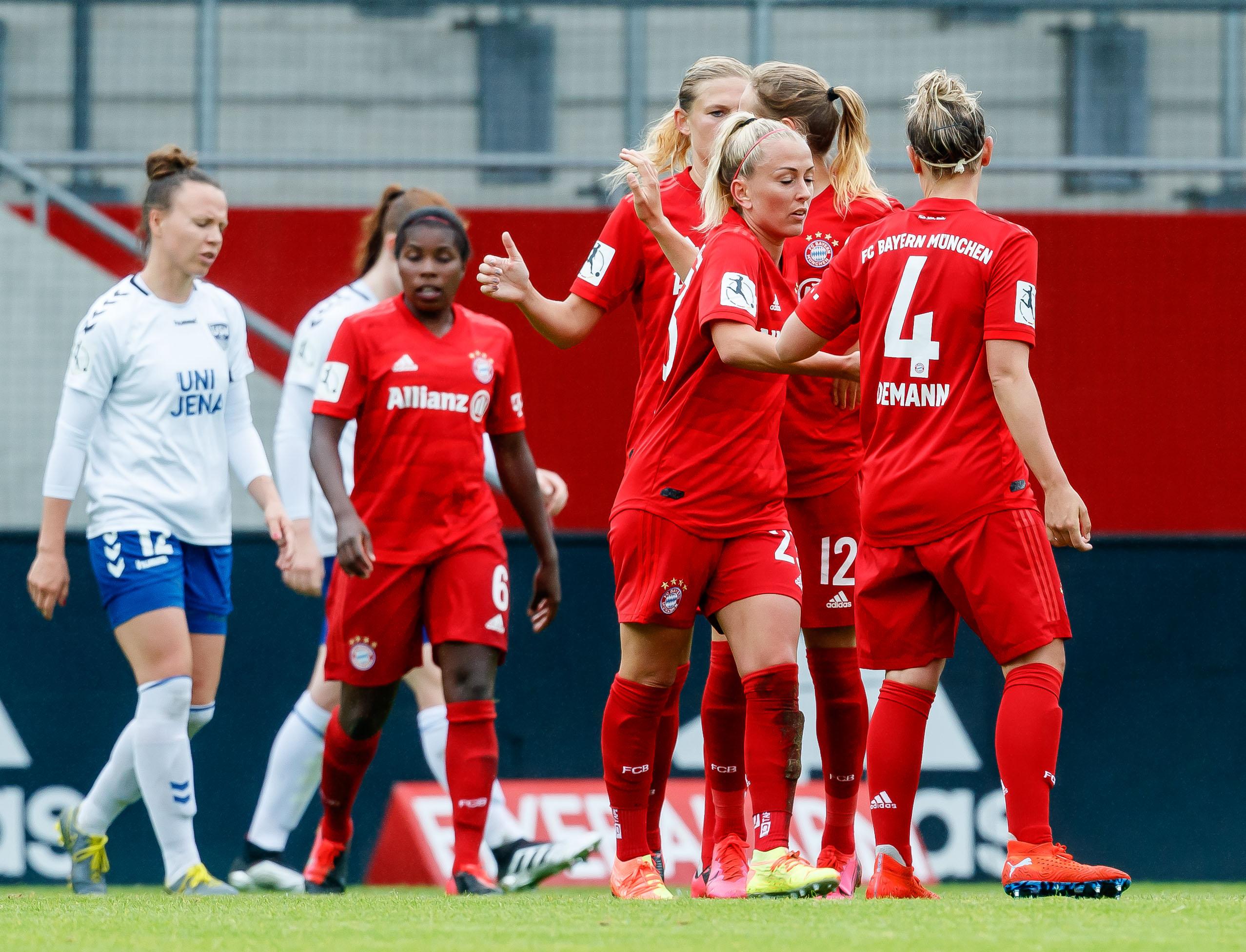 Bayern Muenchen Women's v FF USV Jena Women's - Flyeralarm Frauen-Bundesliga
