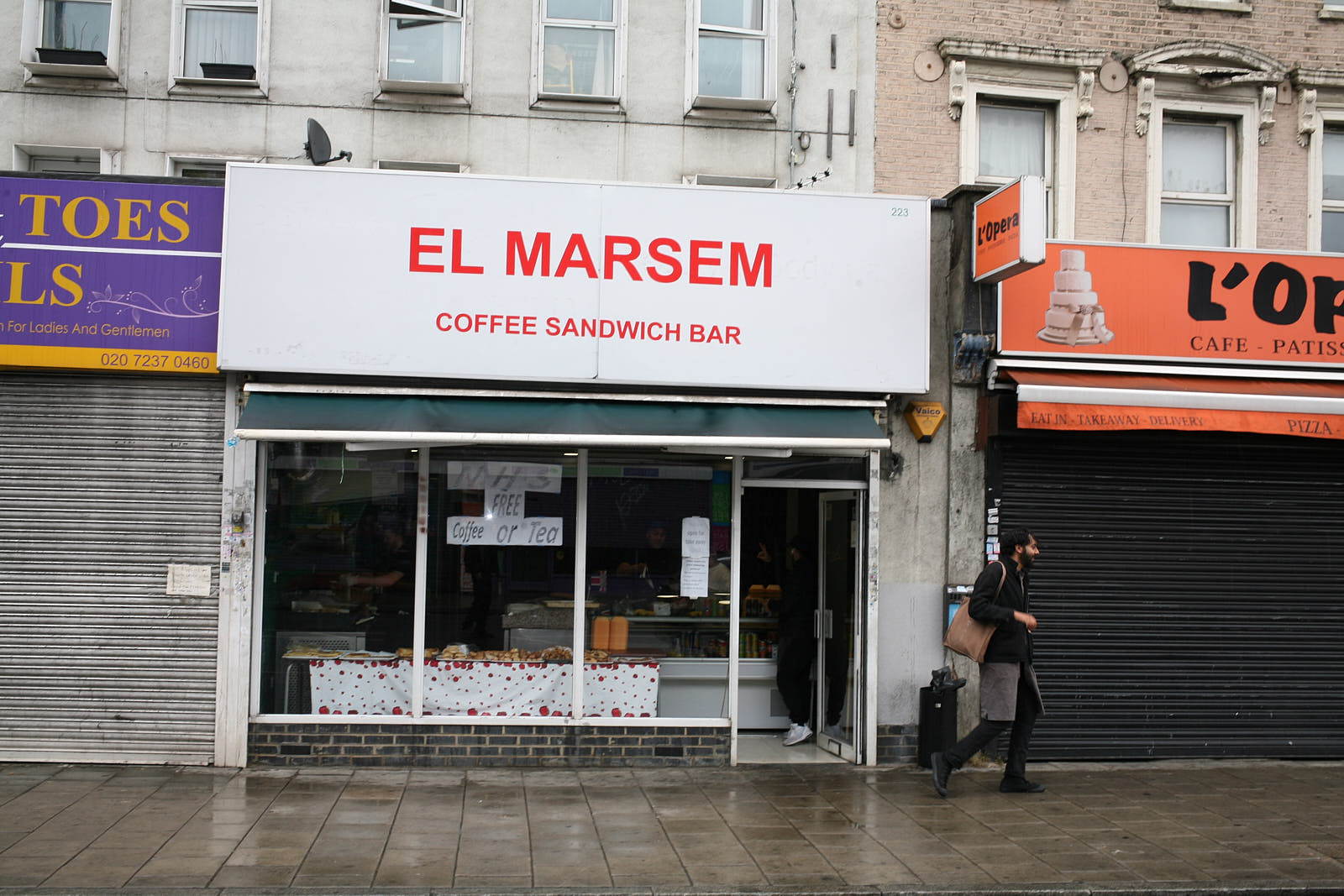 Algerian bakery El Marsem on the Old Kent Road in south London opened during the pandemic