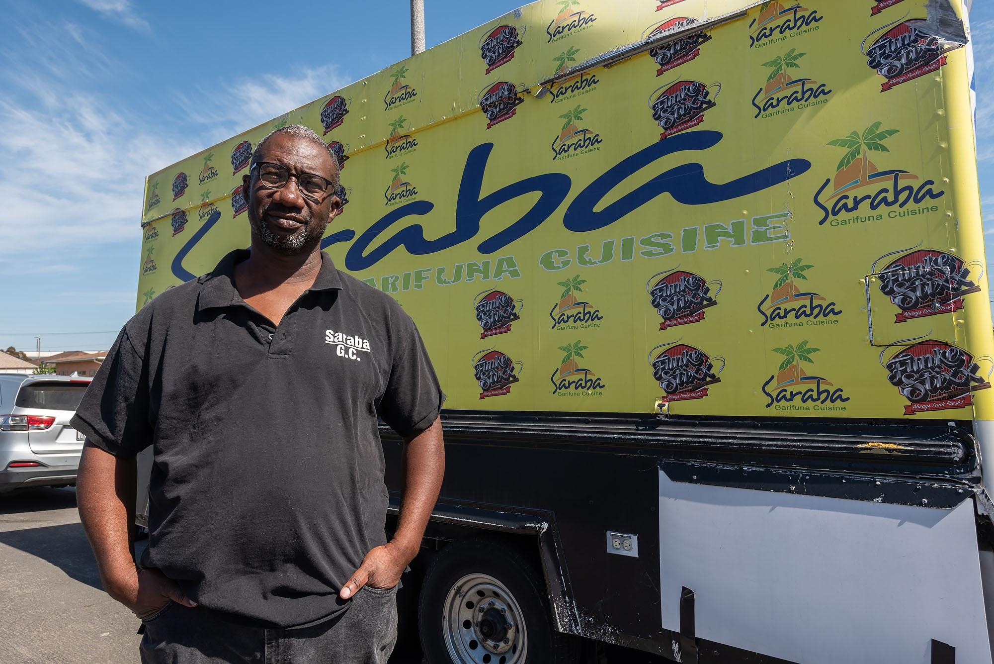 Winston Miranda of Saraba Garifuna Cuisine