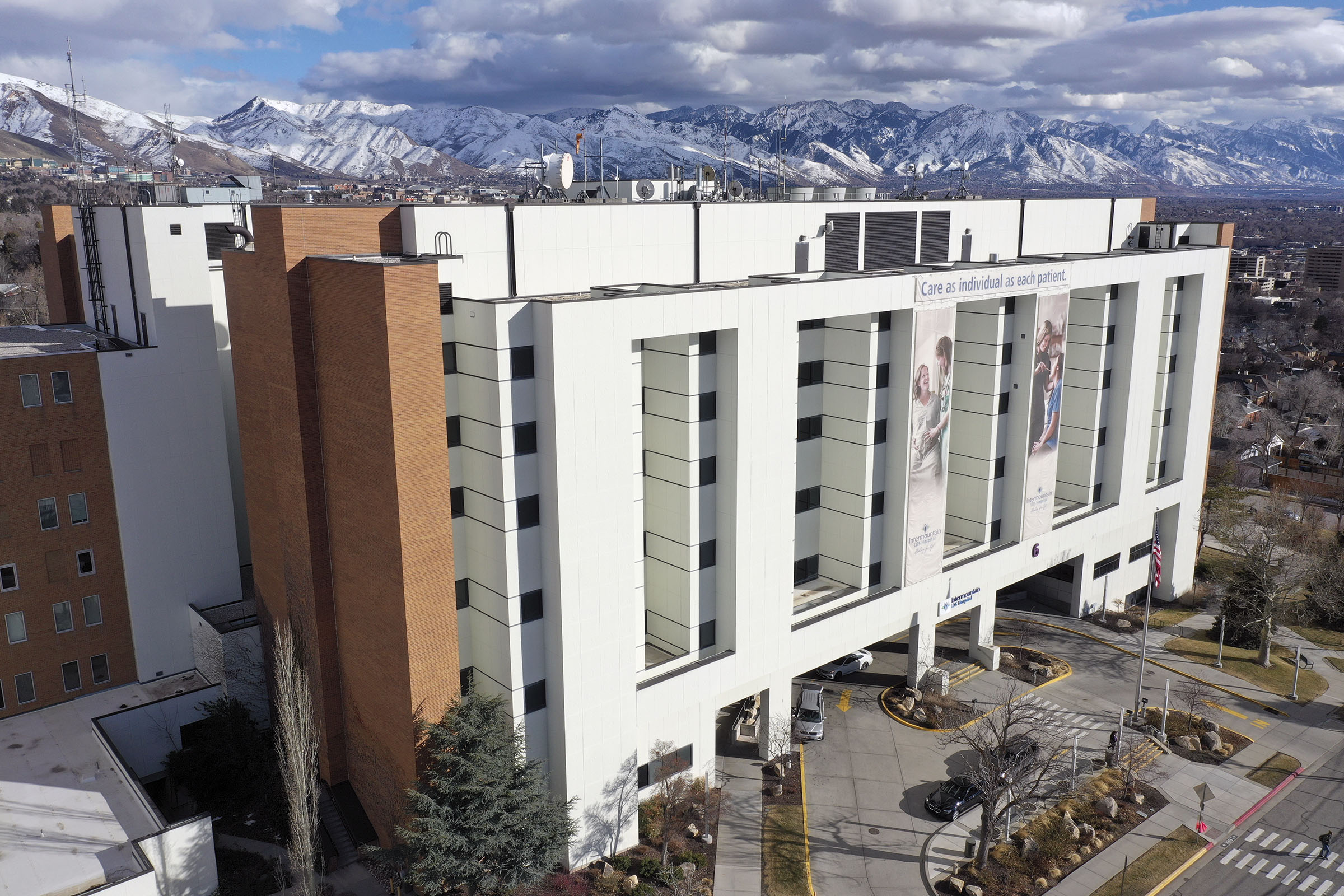 LDS Hospital in Salt Lake City is pictured on Monday, Feb. 24, 2020.