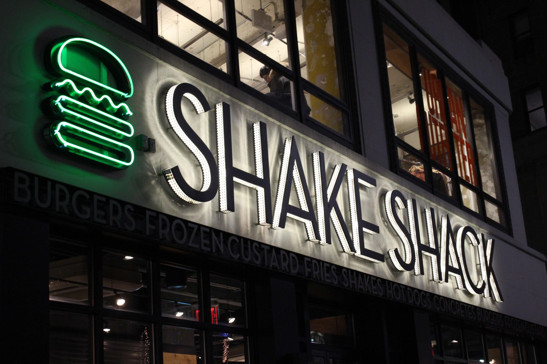 Shake Shack sign.