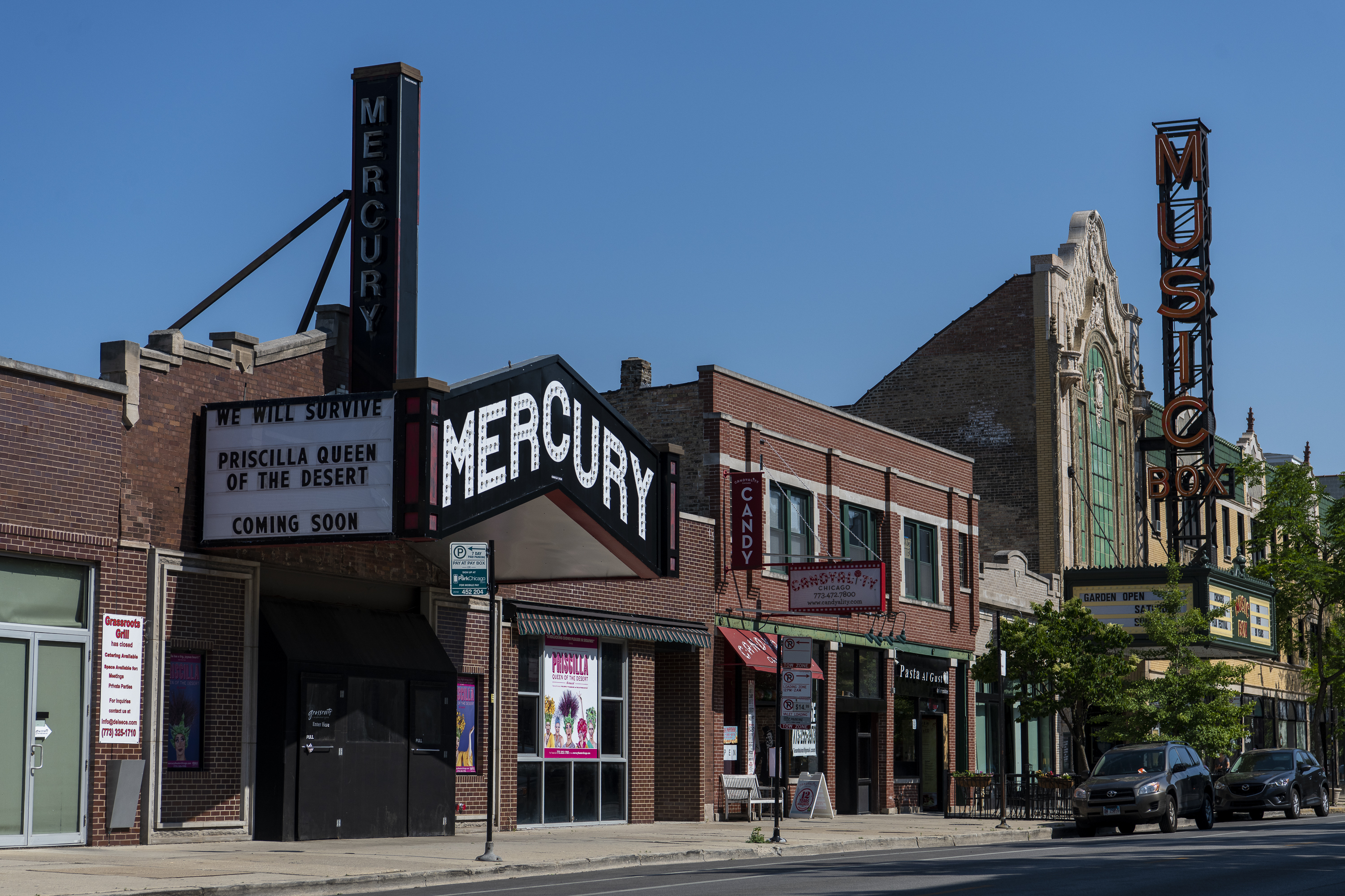The Mercury Theater, at 3745 N. Southport, is closing its doors permanently at the end of June.