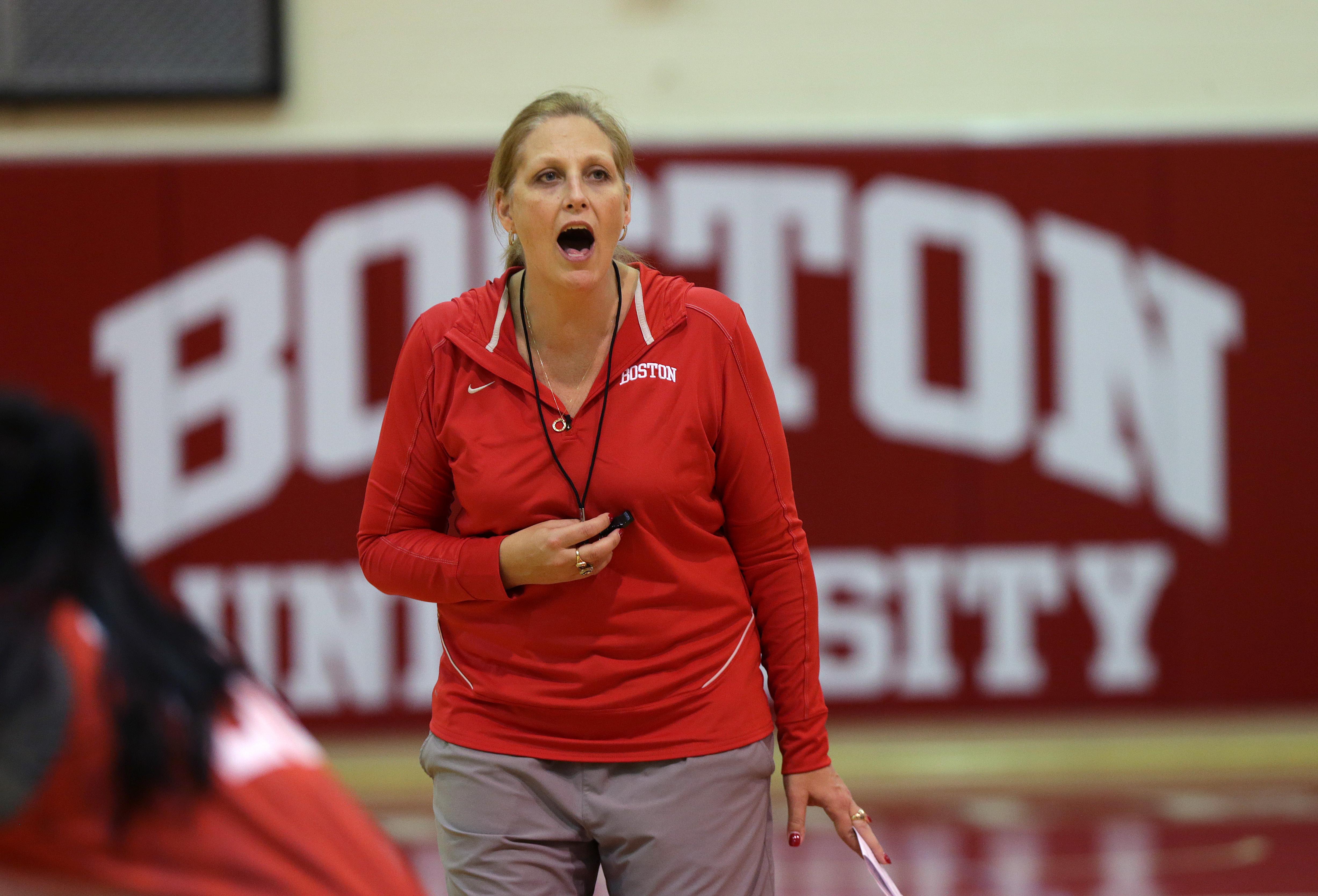 Katy Steding Helping BU Women's Basketball Regroup