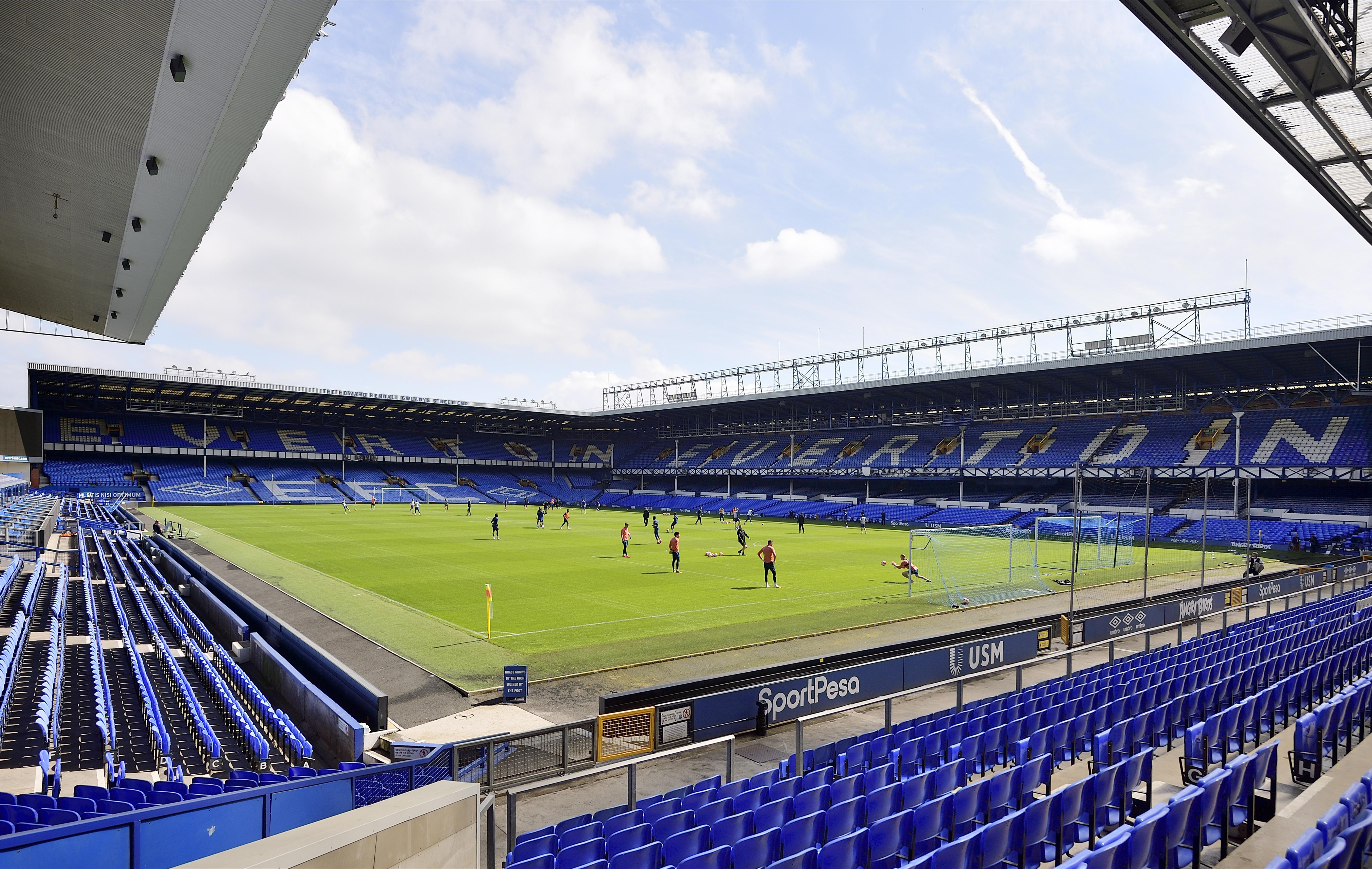 Everton Training Match