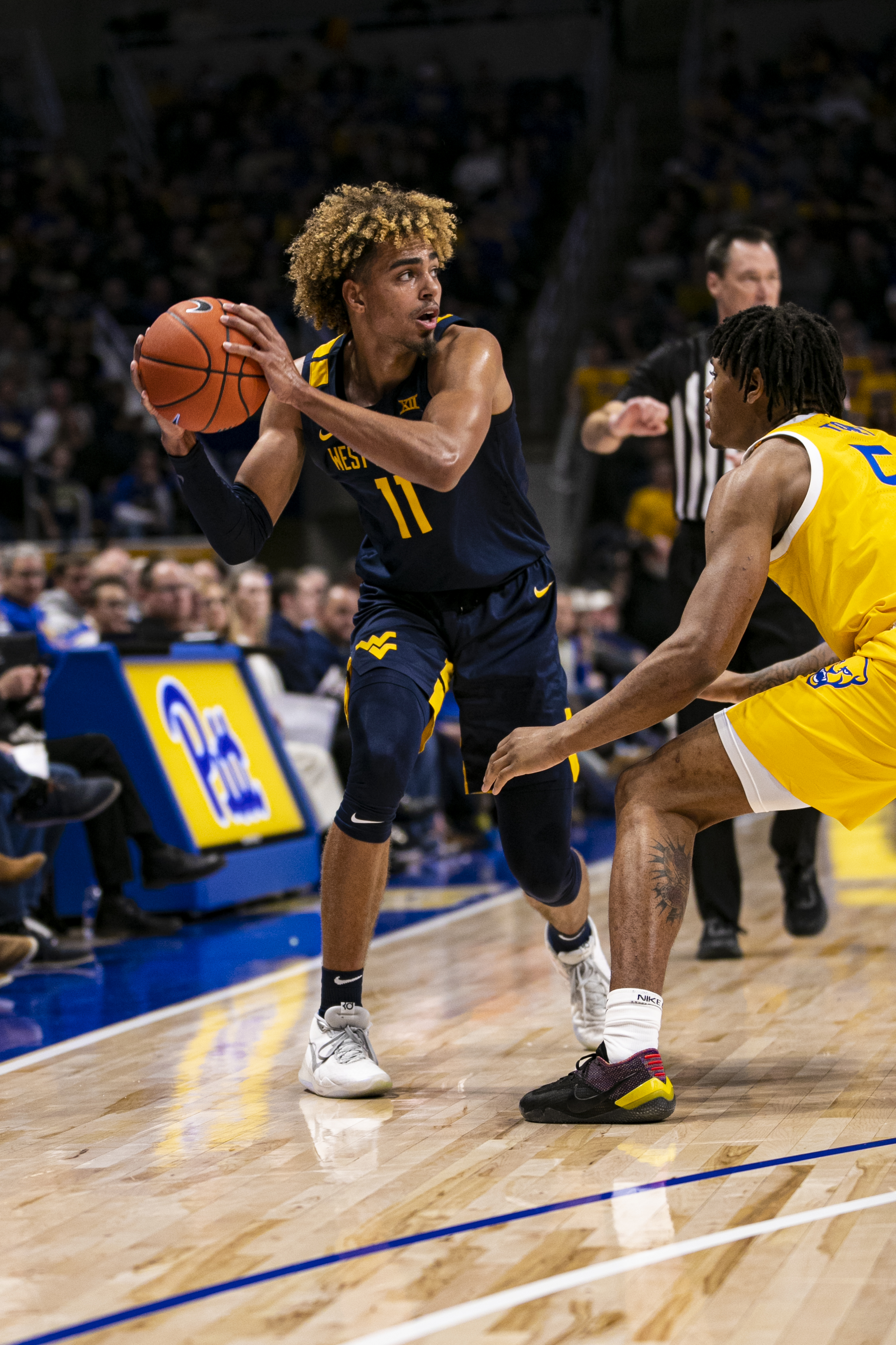 COLLEGE BASKETBALL: NOV 15 West Virginia at Pitt