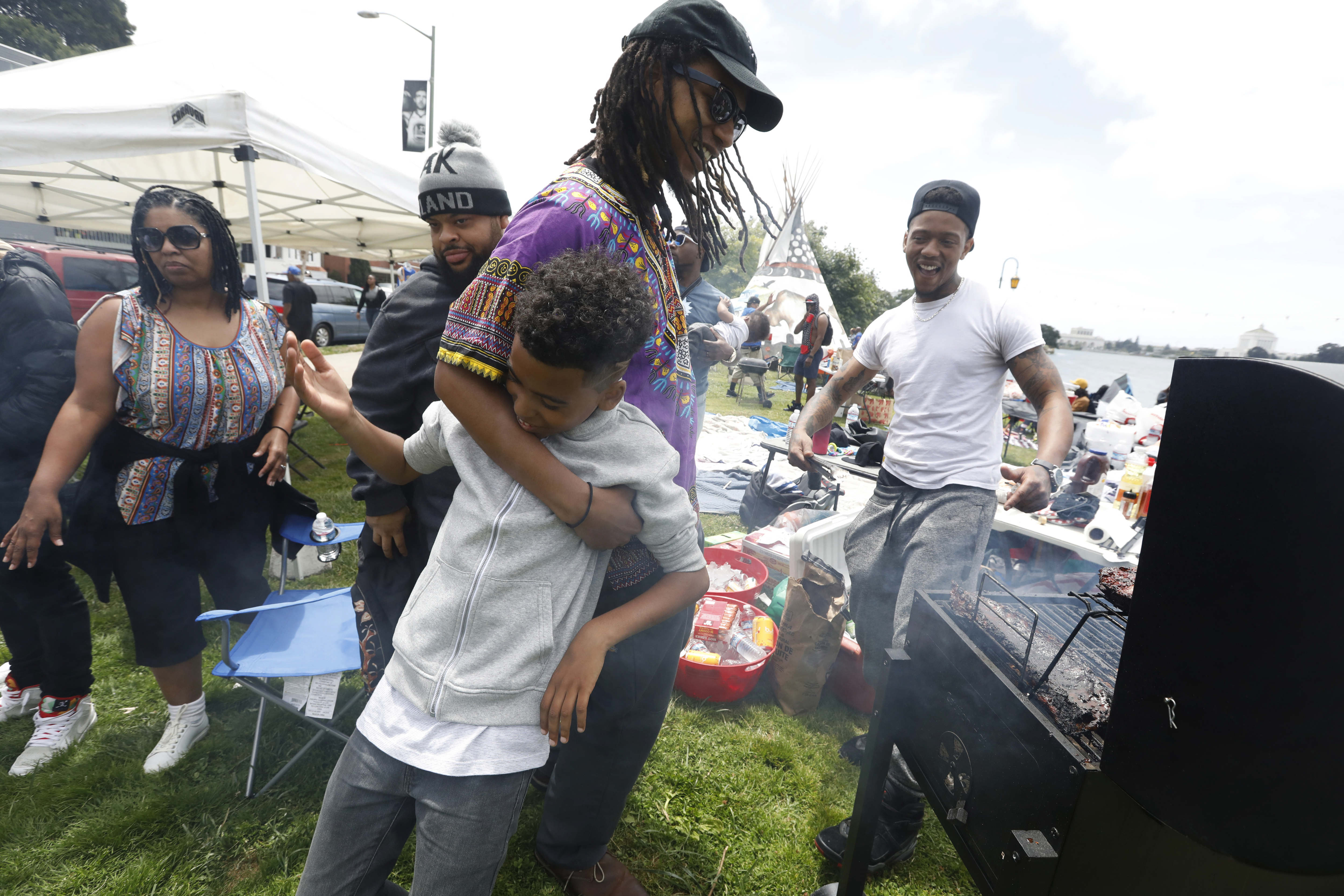 BBQ-ing while Black in Oakland