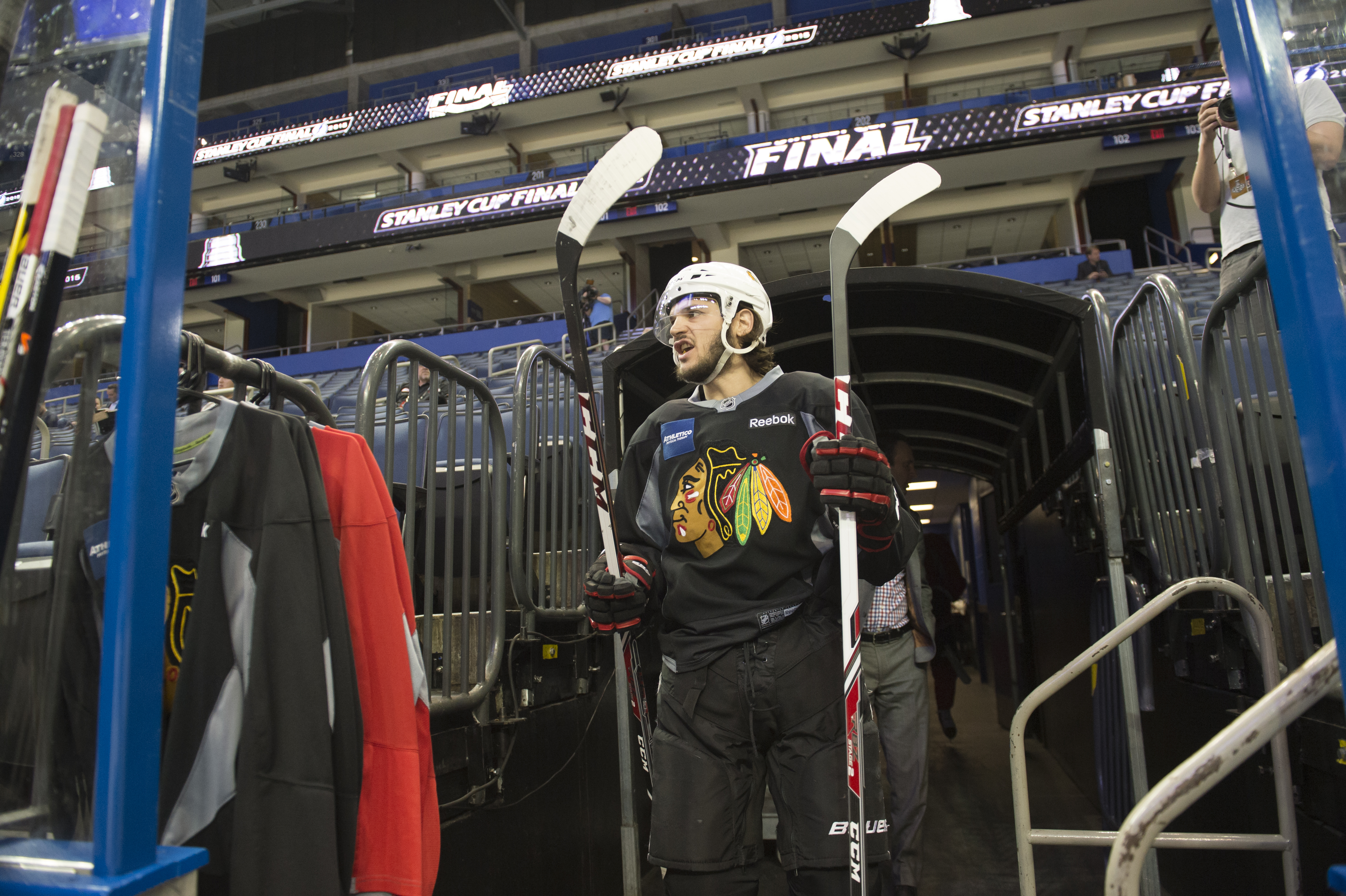 2015 NHL Stanley Cup Final - Practice Sessions