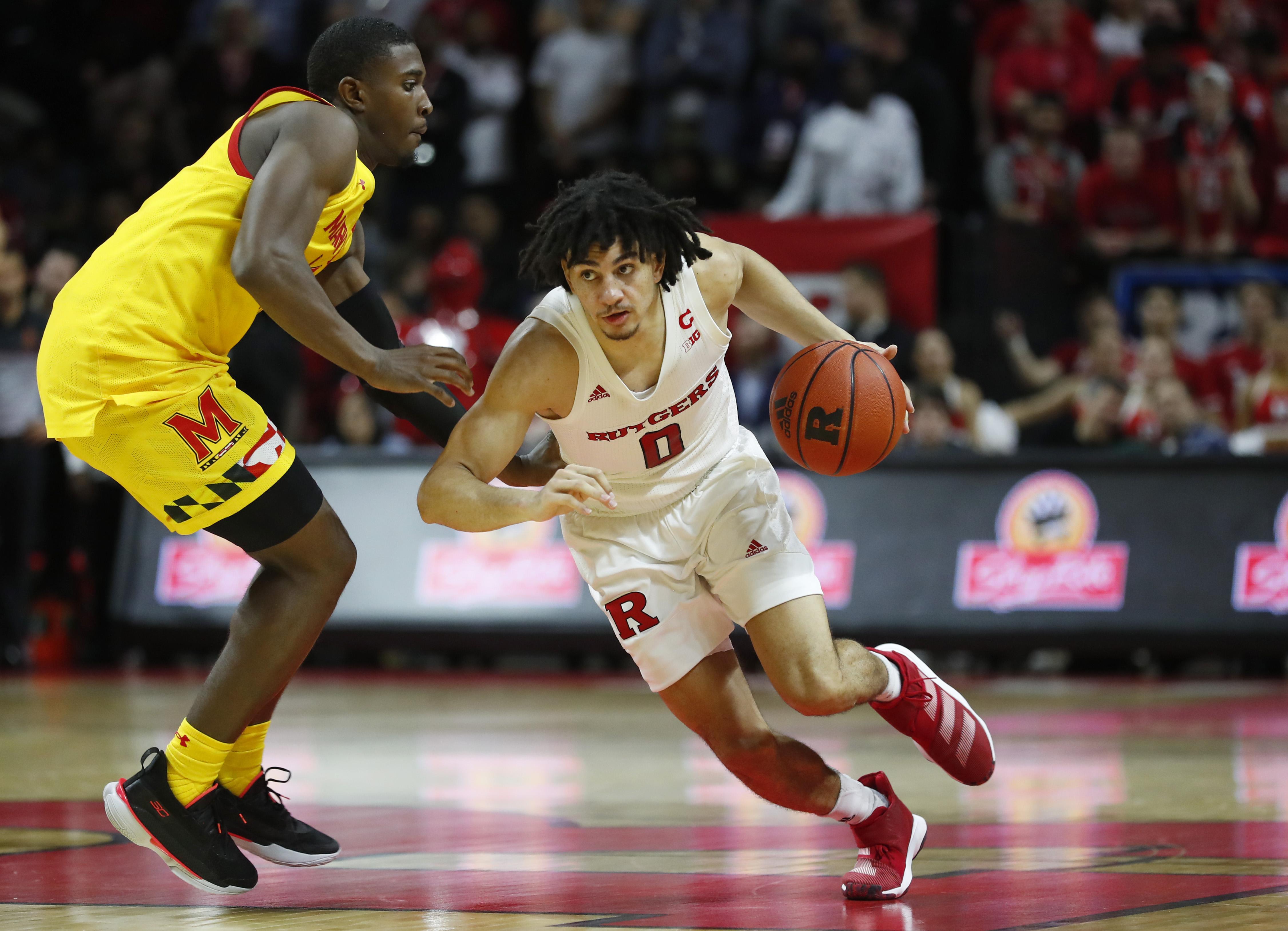 NCAA Basketball: Maryland at Rutgers