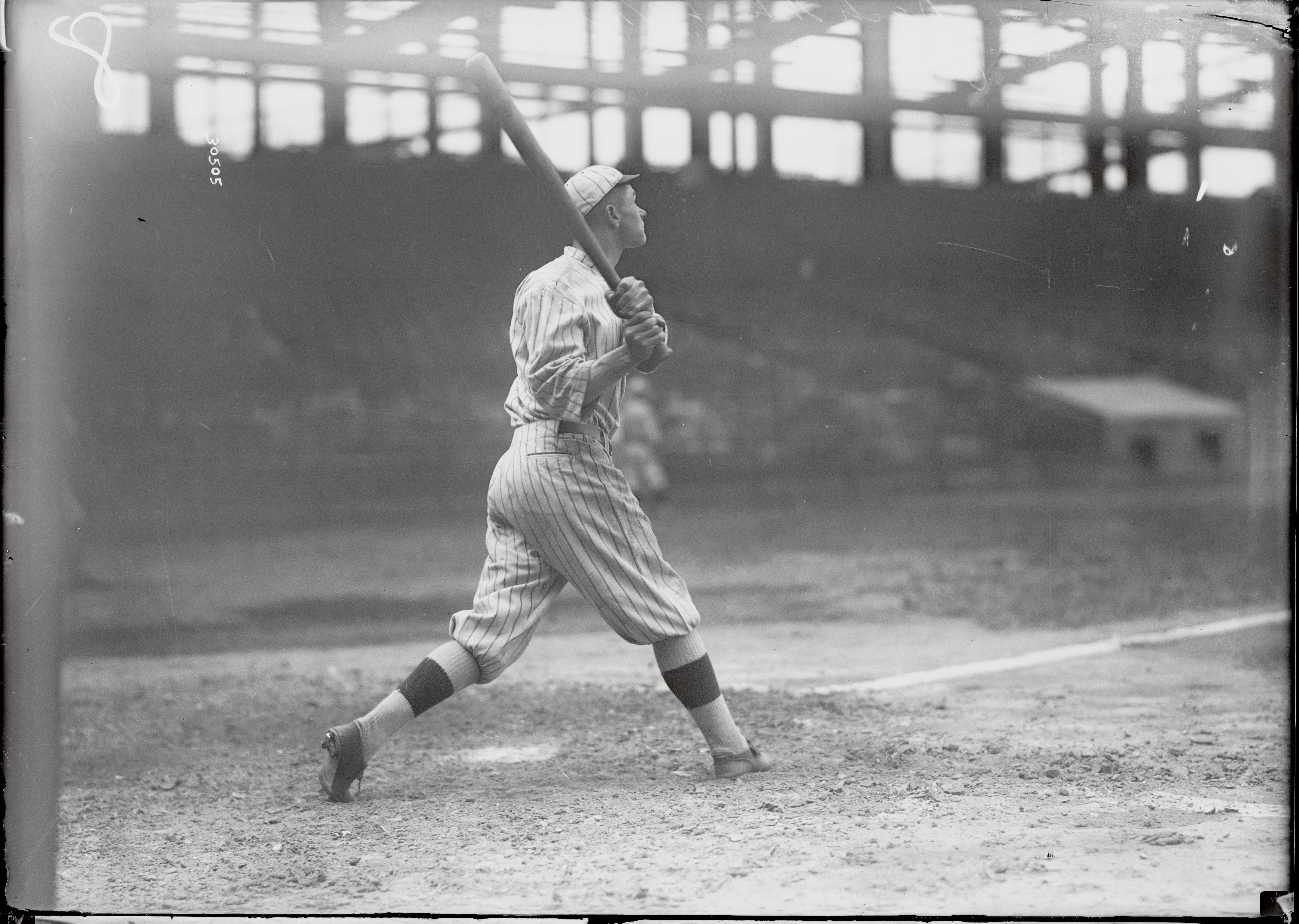 Zach Wheat Swinging Bat
