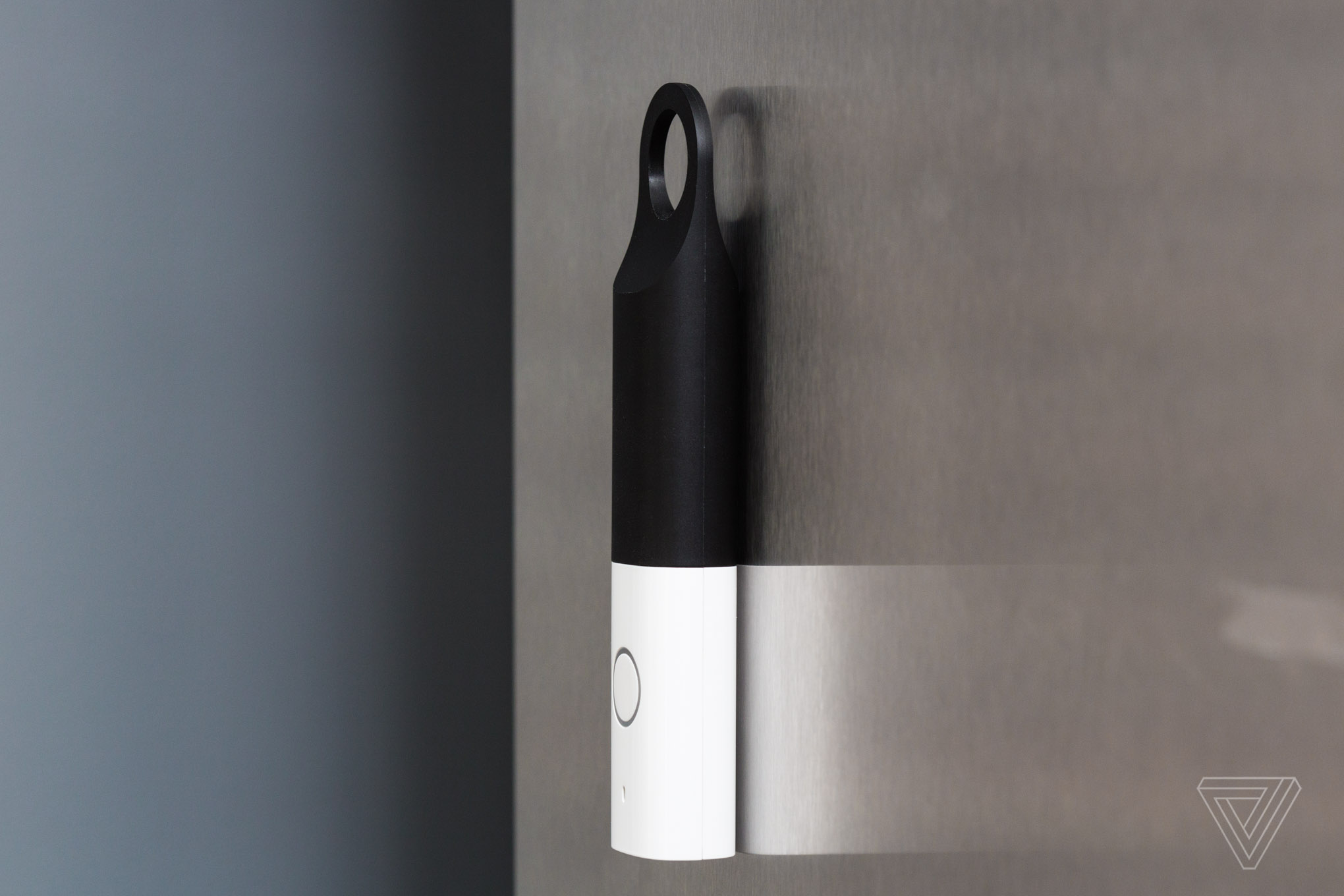 The Dash Wand on a fridge