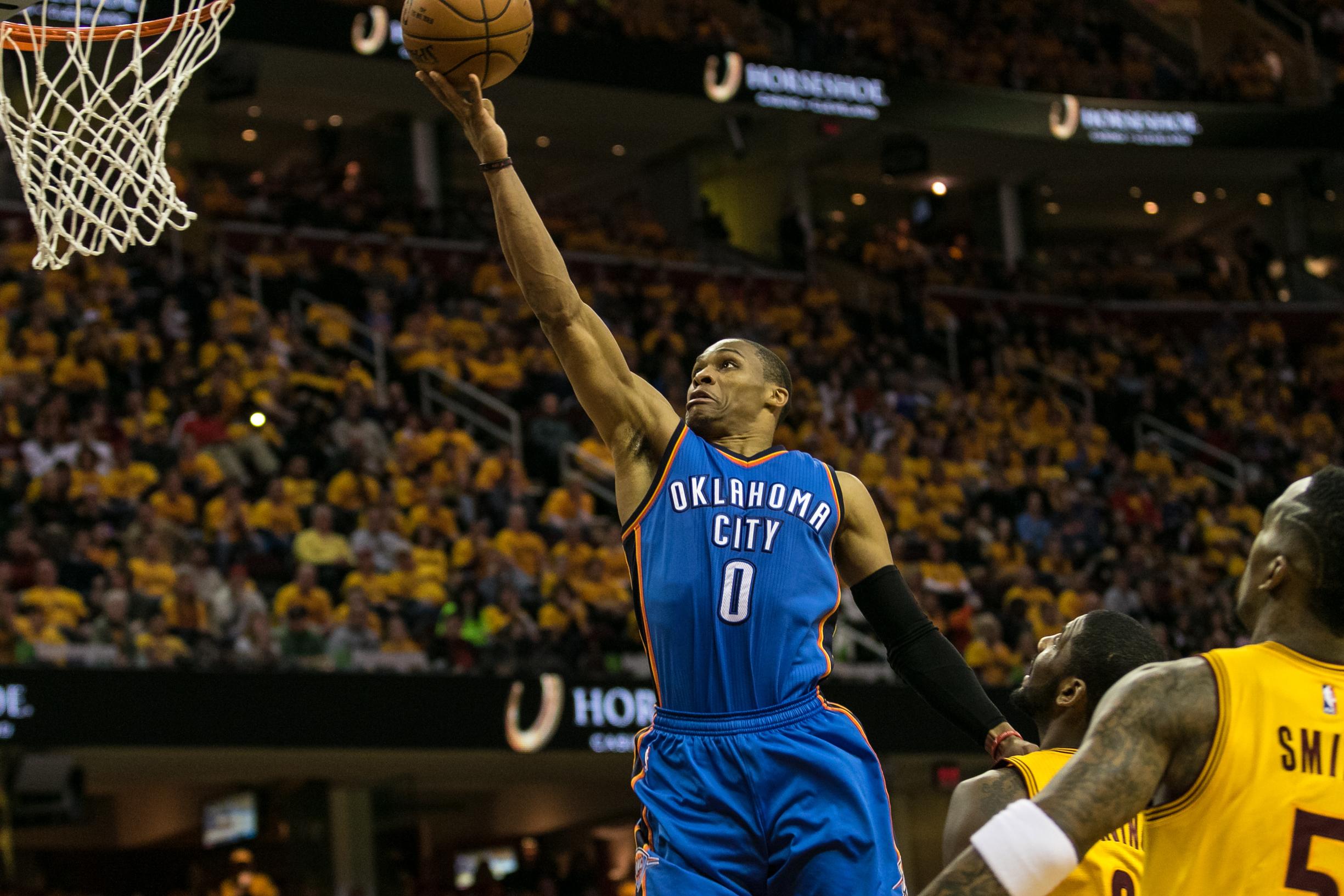 NBA: JAN 25 Thunder at Cavaliers
