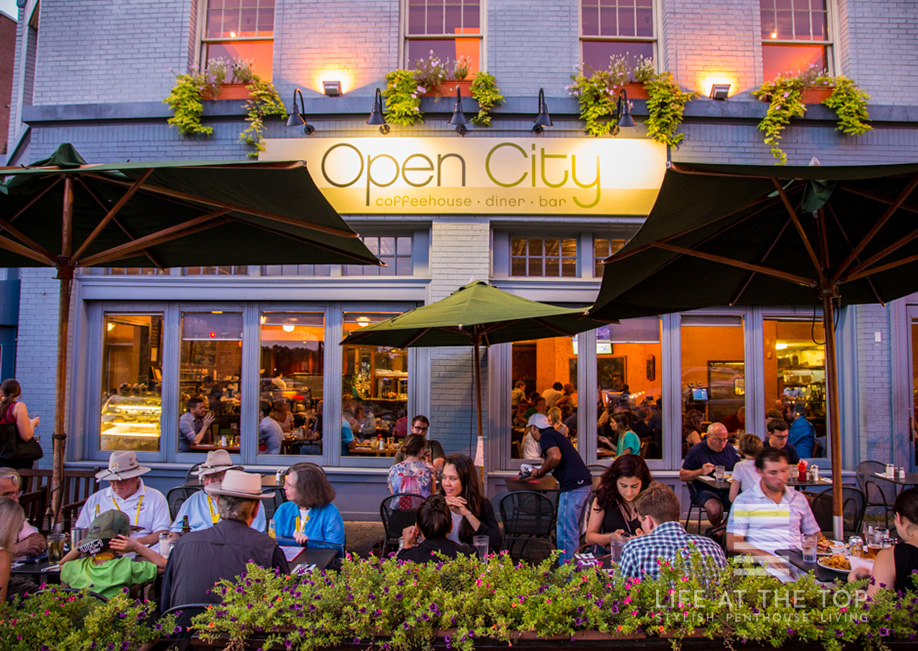 Woodley Park diner Open City