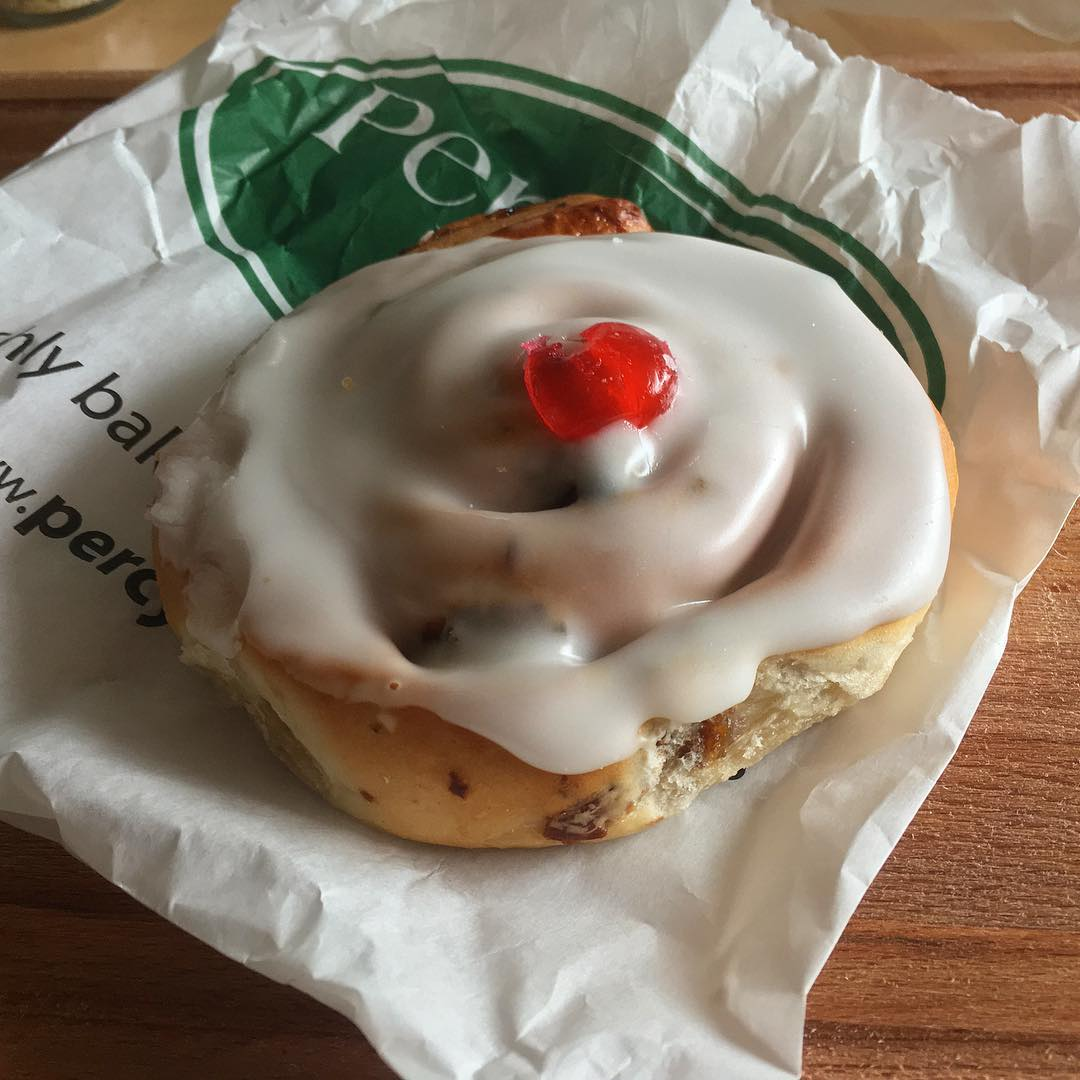 A Percy Ingle Belgian Bun. The cherished East London bakery announced that its almost 50 shops will close after the coronavirus pandemic