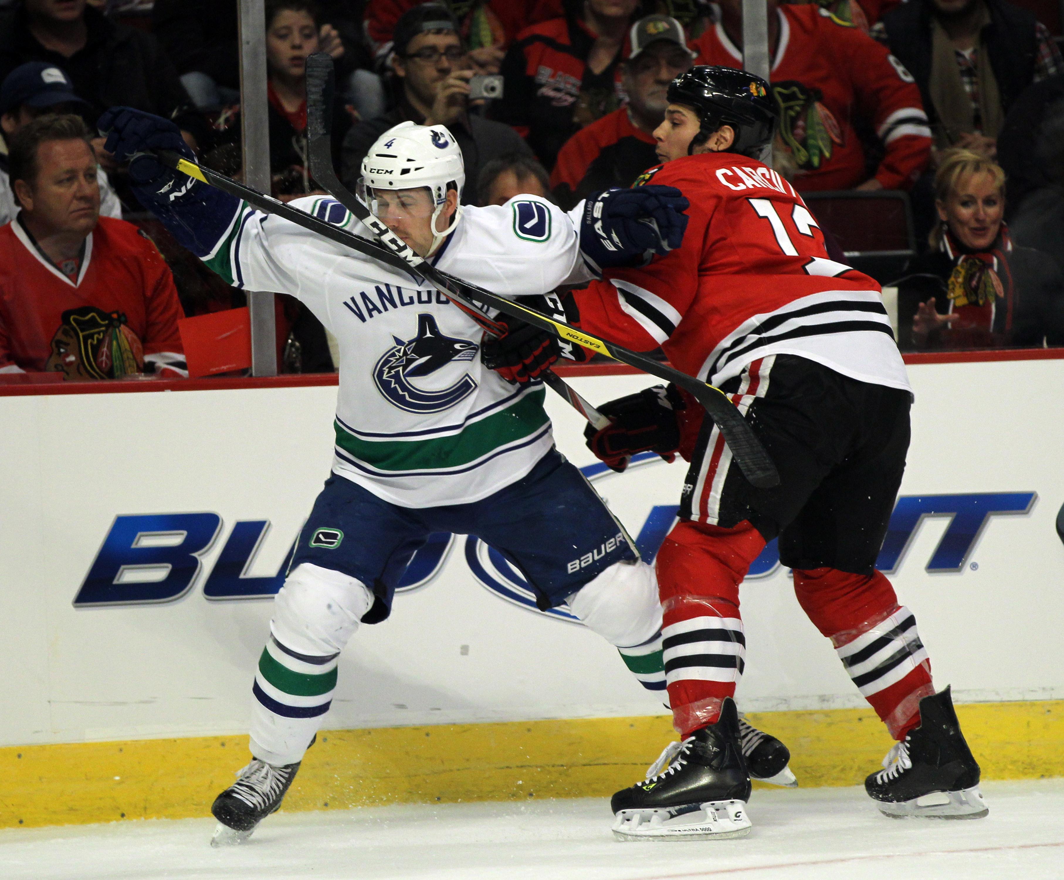 Vancouver Canucks v Chicago Blackhawks